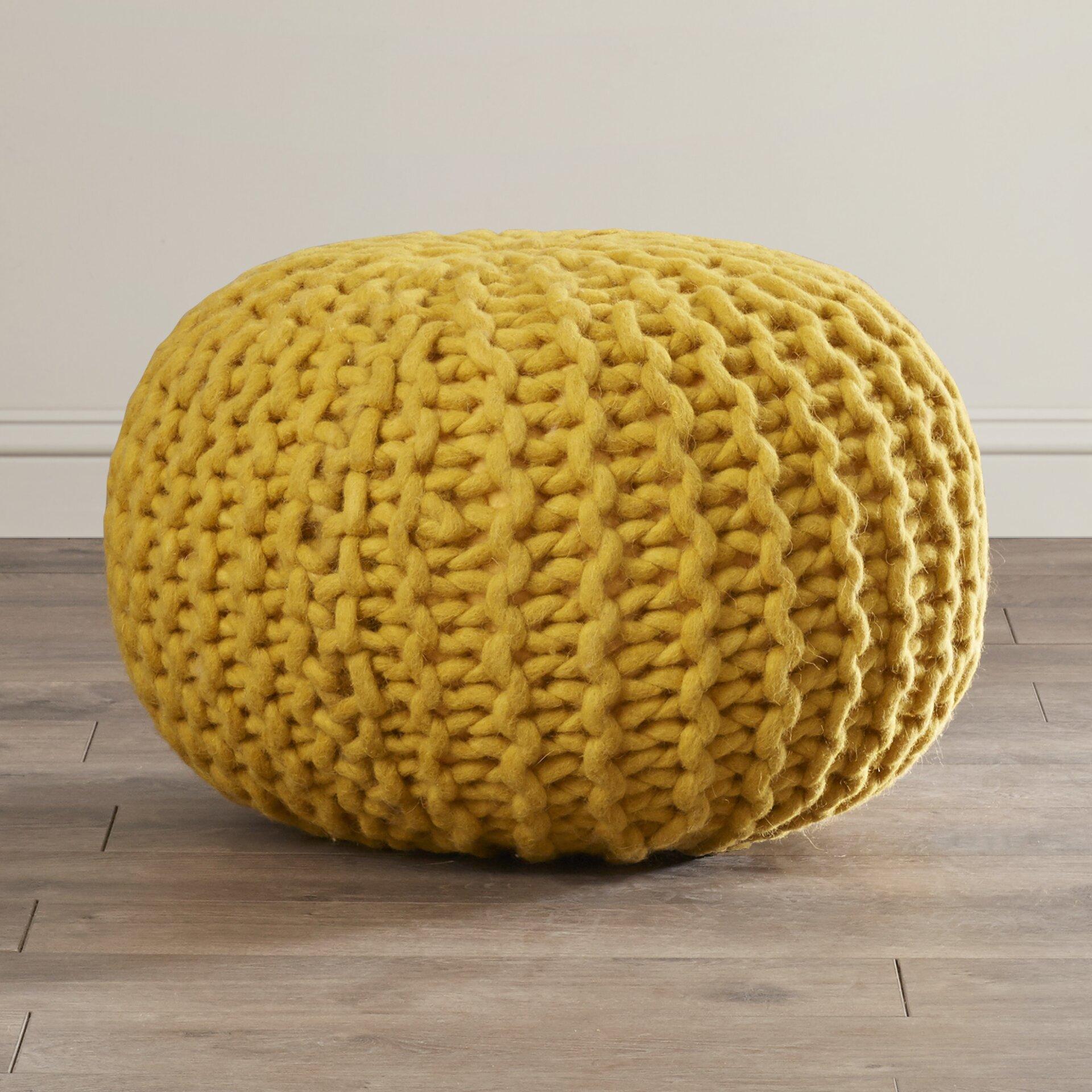 Tremendous Bungalow Rose Valkenburg Sphere Pouf Ottoman On Popscreen Short Links Chair Design For Home Short Linksinfo