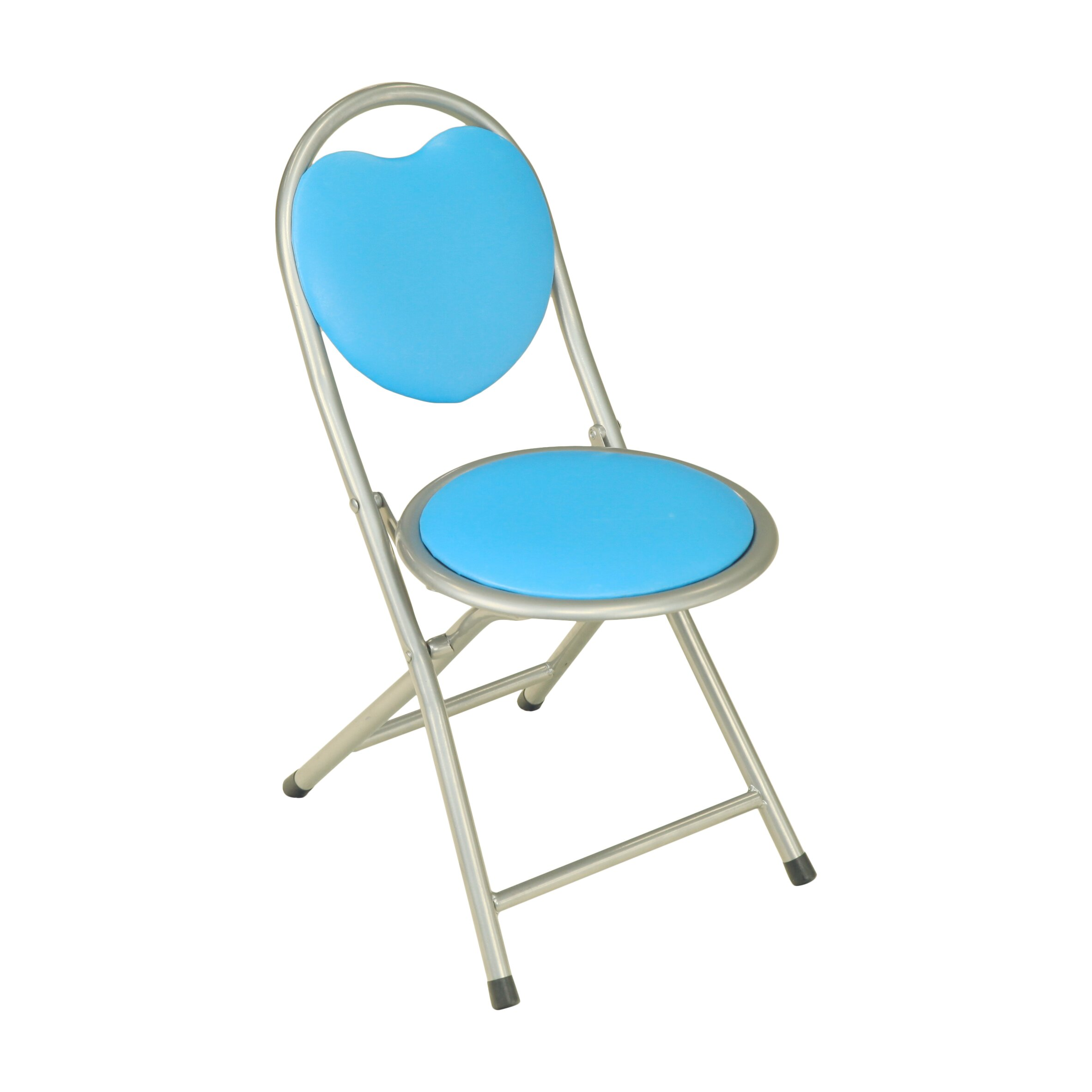 Viv Rae Kids Metal Folding Chair in Blue & Reviews