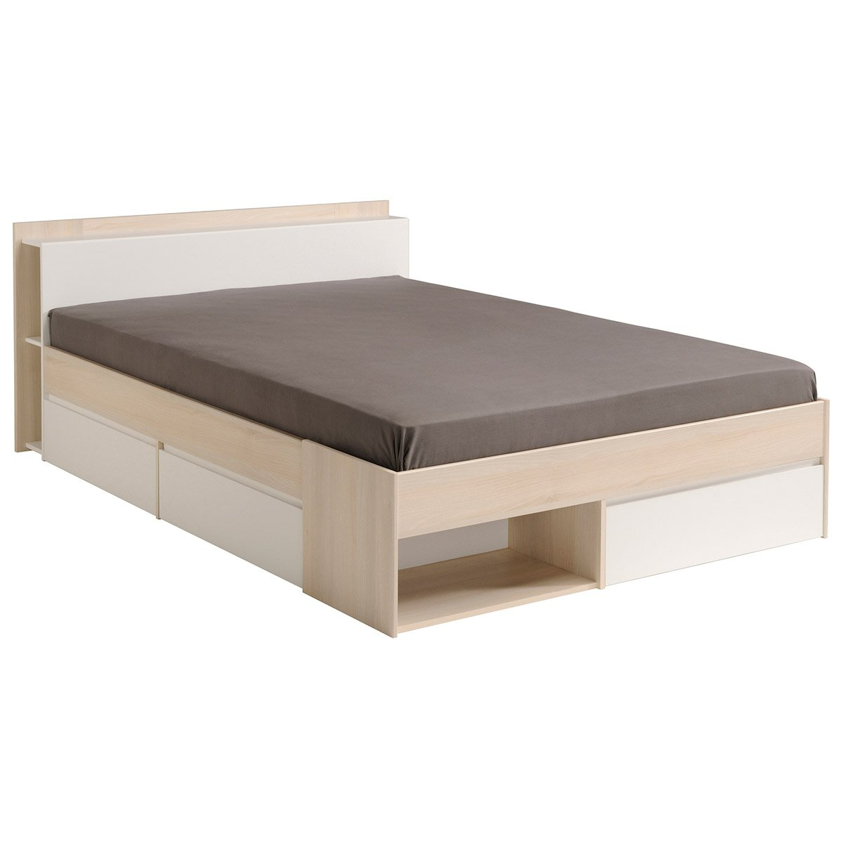 parisot most full storage platform bed reviews wayfair. Black Bedroom Furniture Sets. Home Design Ideas