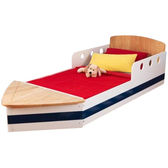 kidkraft boat bed mattress size 3