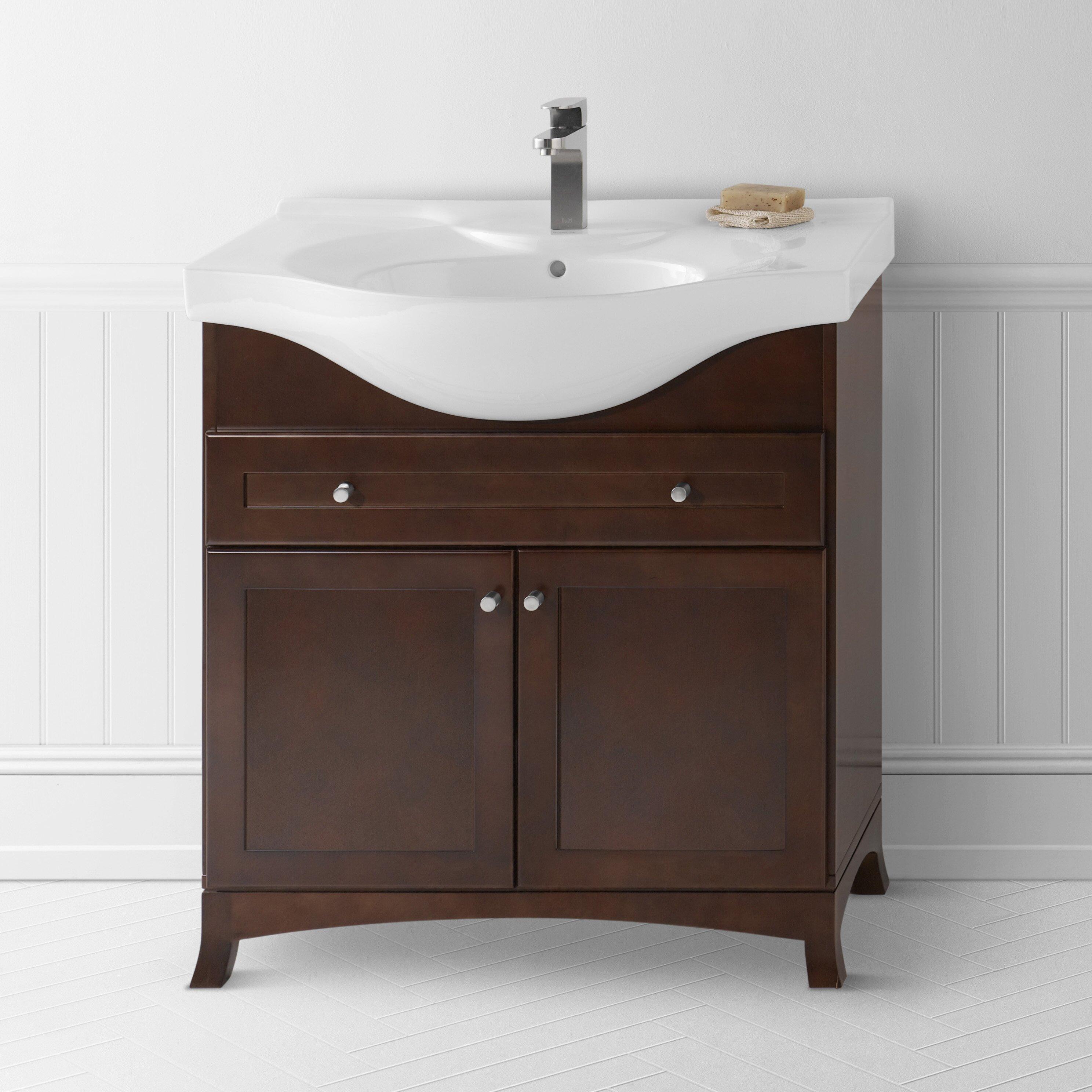 Ronbow Adara 31 Single Space Saver Bathroom Vanity Set Reviews Wayfair