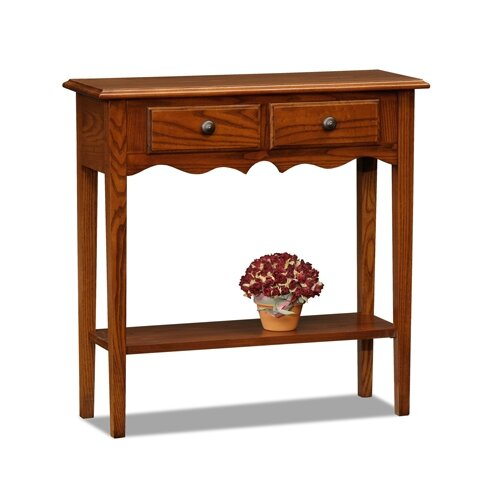 charlton home petite console table reviews wayfair. Black Bedroom Furniture Sets. Home Design Ideas