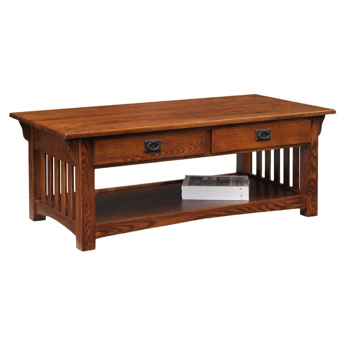Leick Mission Impeccable Coffee Table Amp Reviews Wayfair