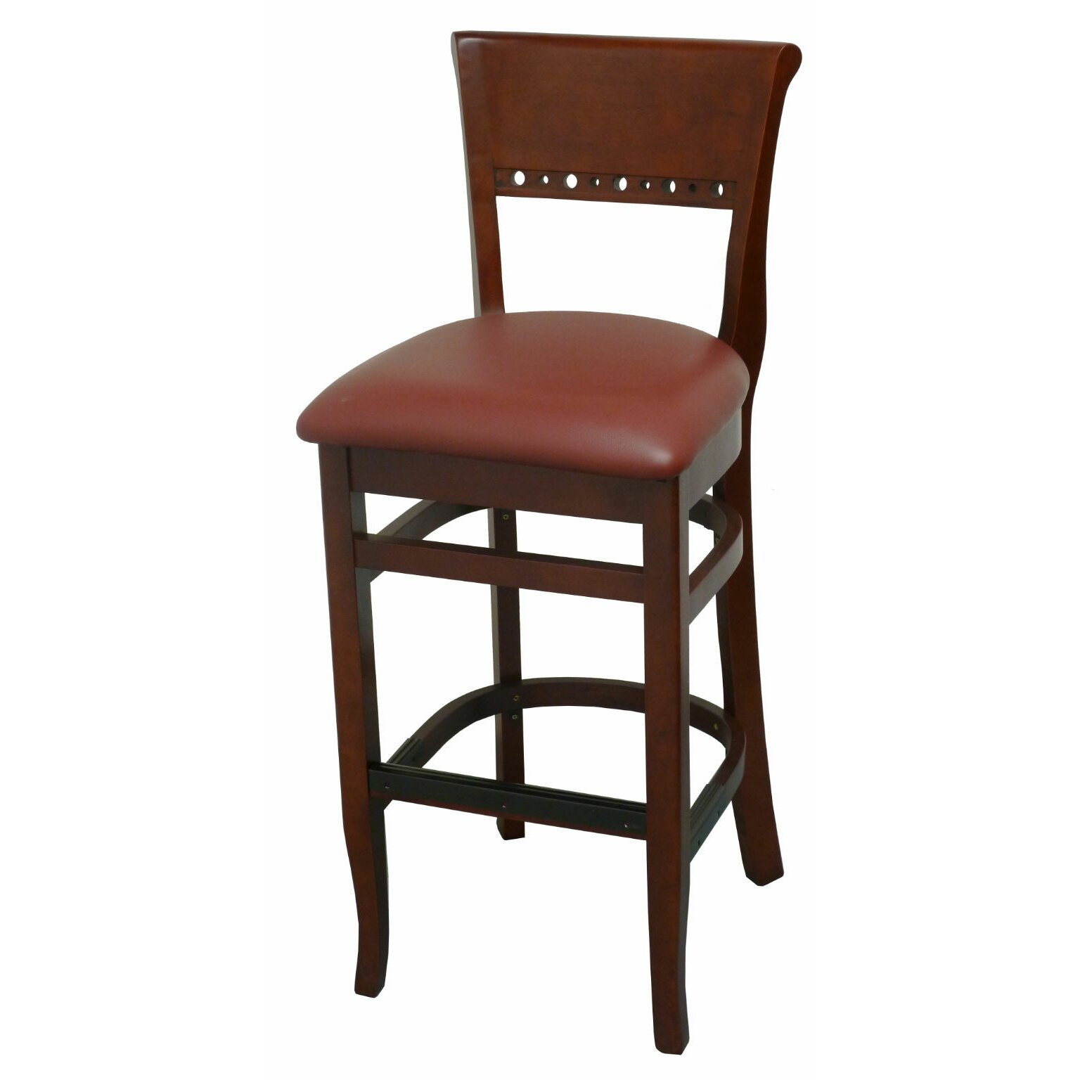 bar stool with cushion by dhc furniture