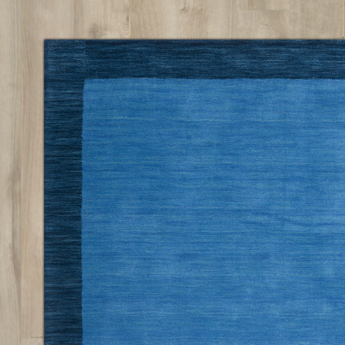 Breakwater Bay Southbury Hand Loomed Blue Indoor Outdoor