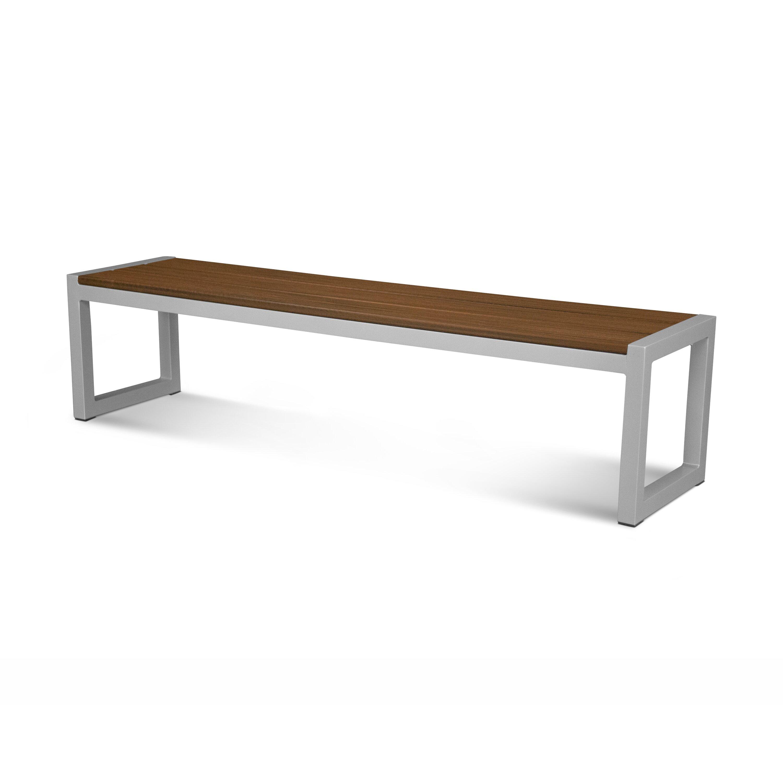 Fallon aluminum garden bench wayfair Aluminum benches