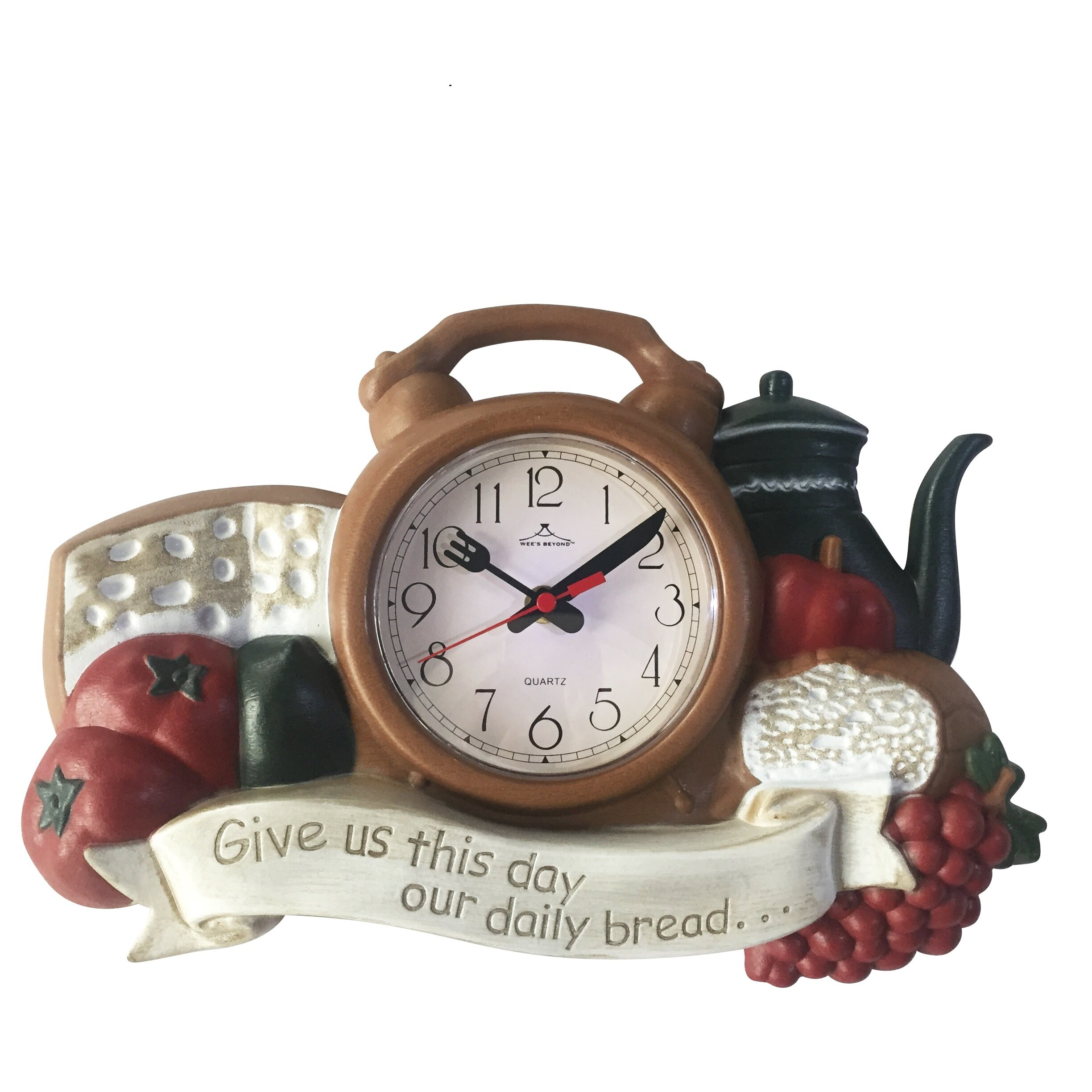 Wee s Beyond Kitchen Wall Clock & Reviews