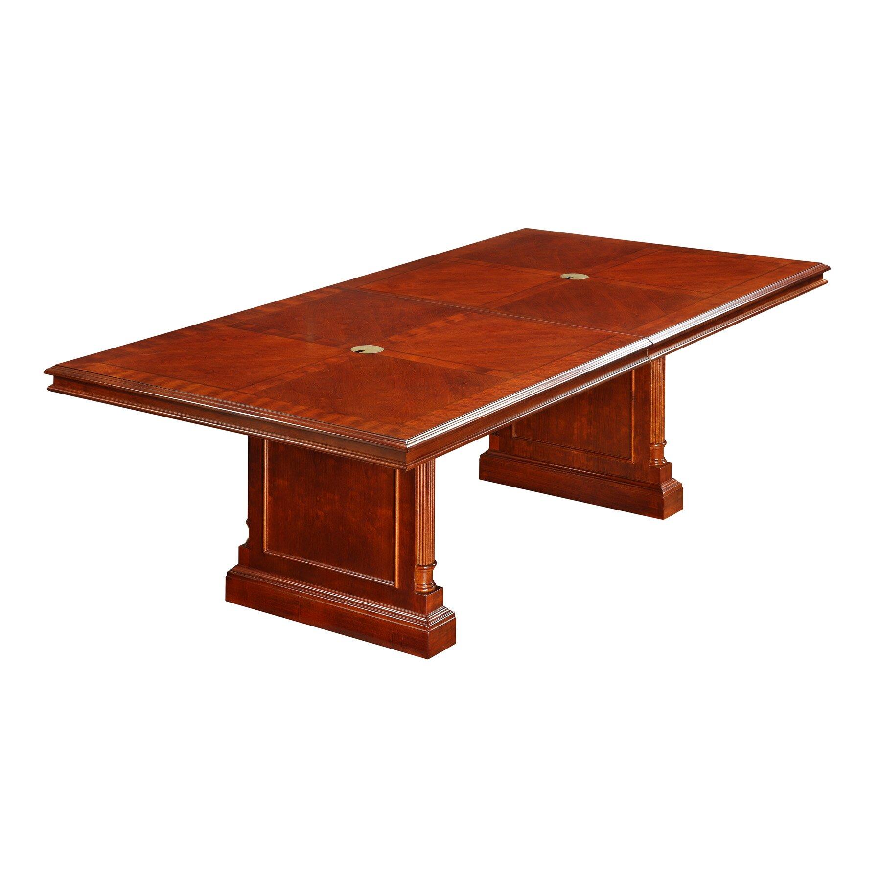 keswick 10 39 expandable rectangular conference table wayfair