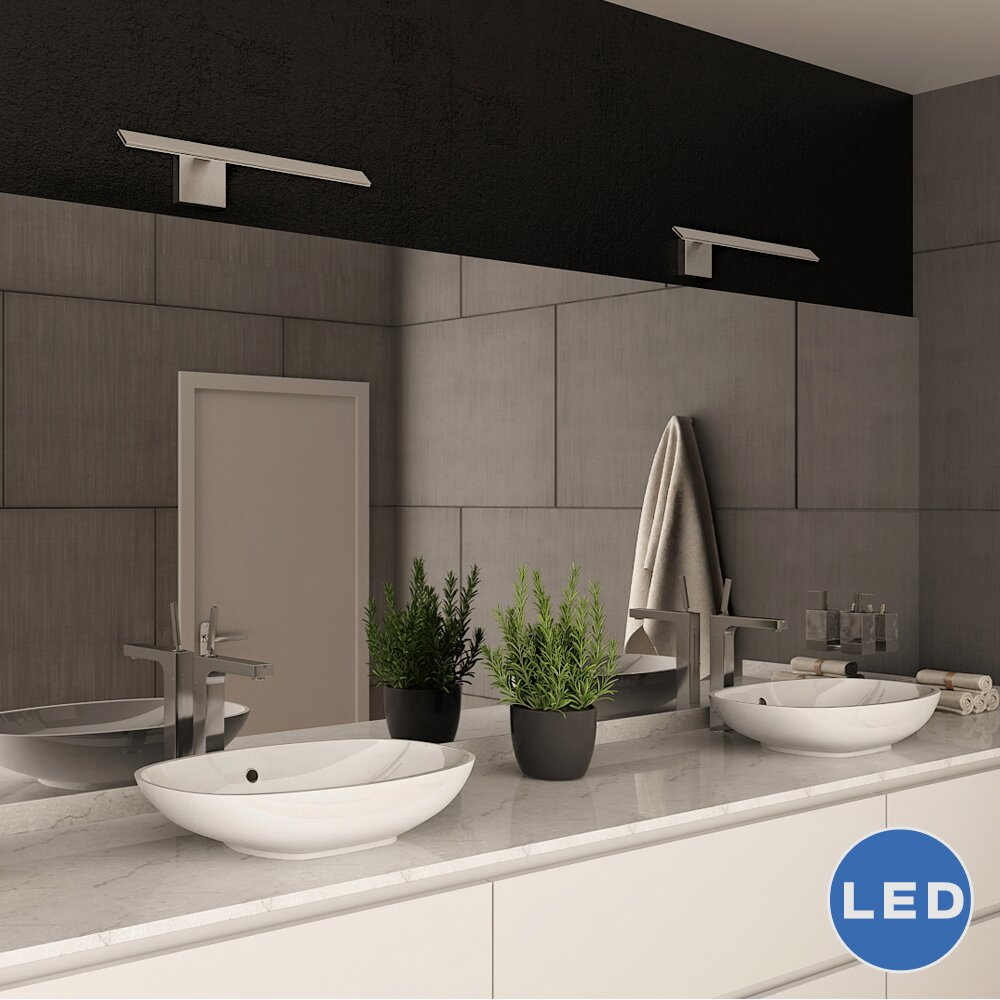 Bar Light Fixtures: Wezen LED Indirect Bathroom Lighting Fixture