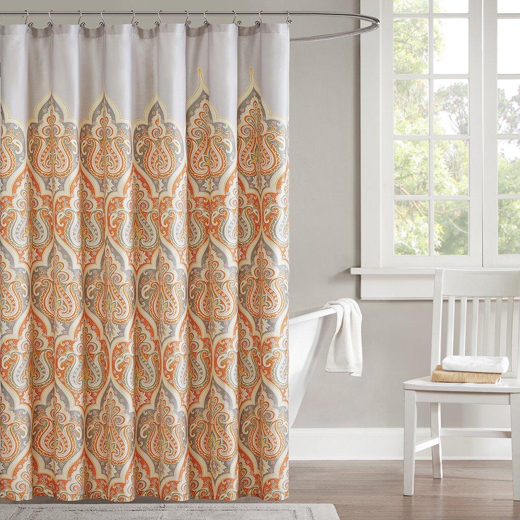 Madison Park Nisha Shower Curtain Amp Reviews Wayfair