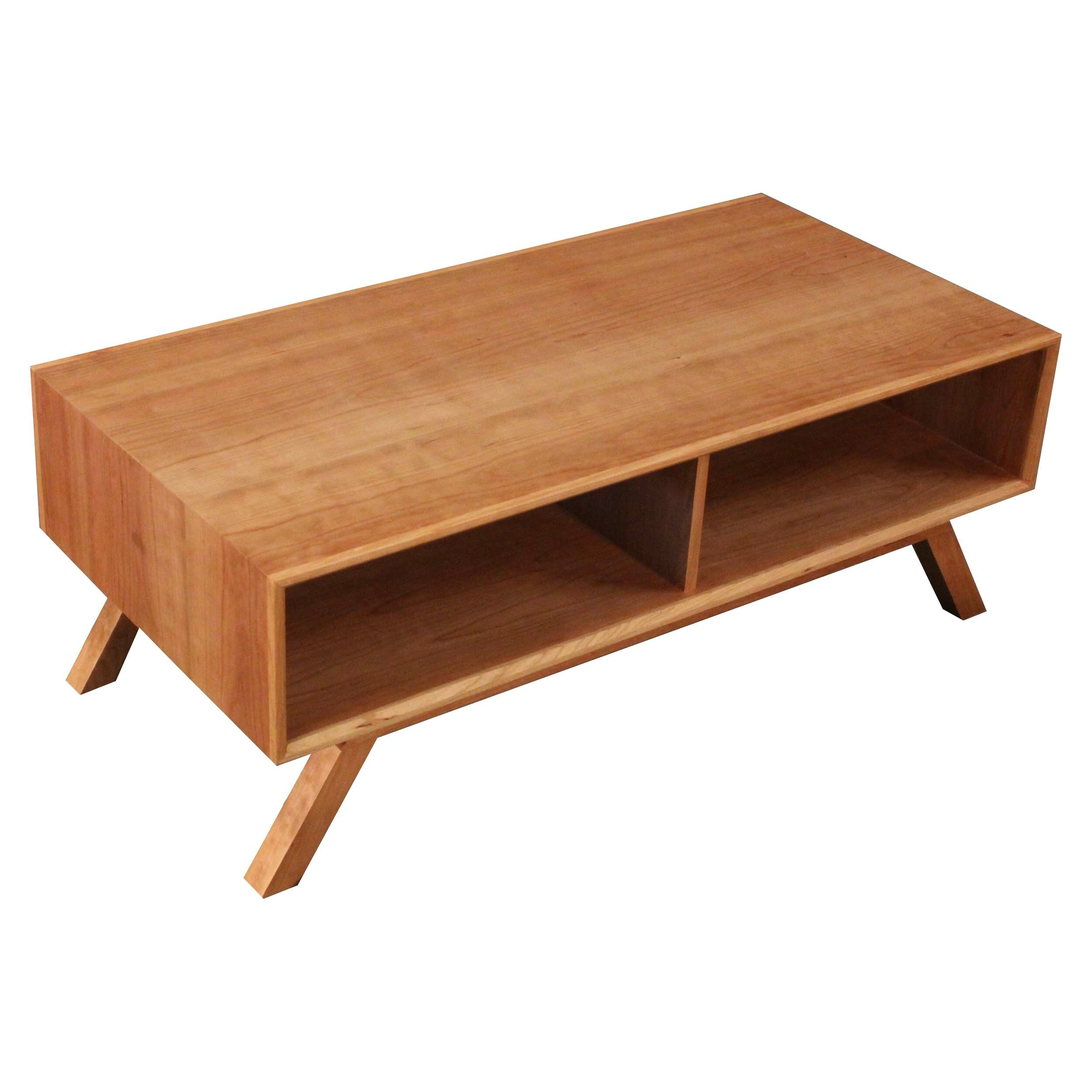 Midcentury coffee table wayfair for Wayfair mid century coffee table