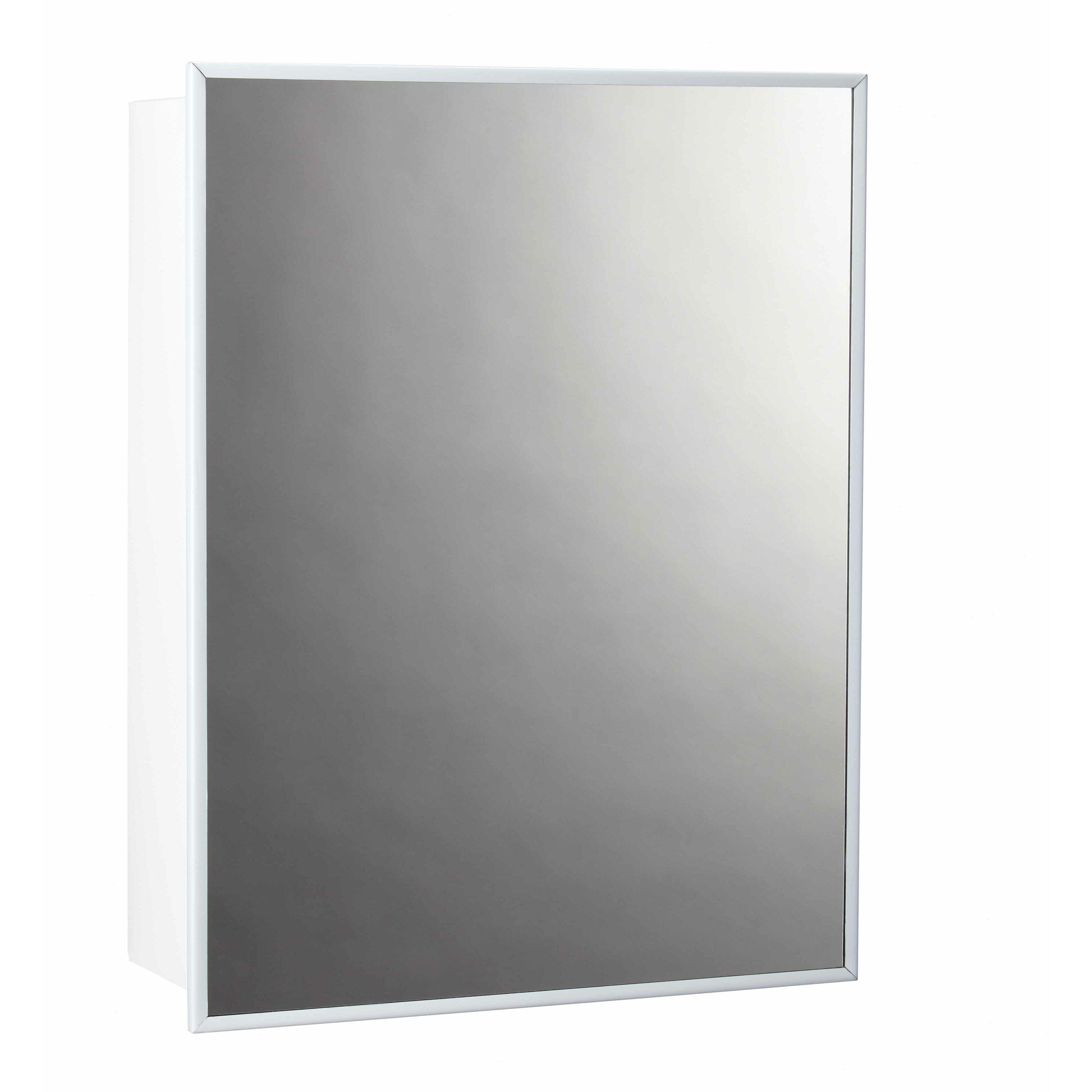 Jensen 14 x 18 surface mount medicine cabinet reviews for Bathroom medicine cabinets 14 x 18