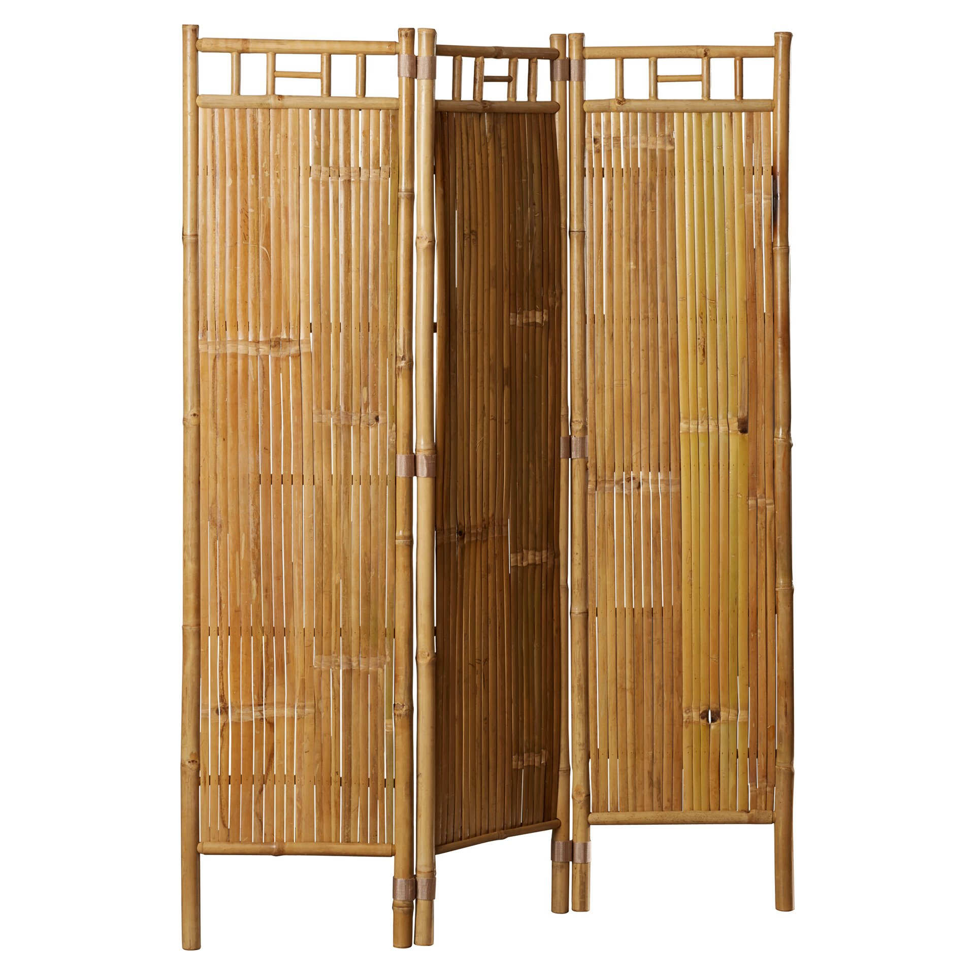 Bay Isle Home Porter 63 Quot H X 48 Quot W 3 Panel Room Divider