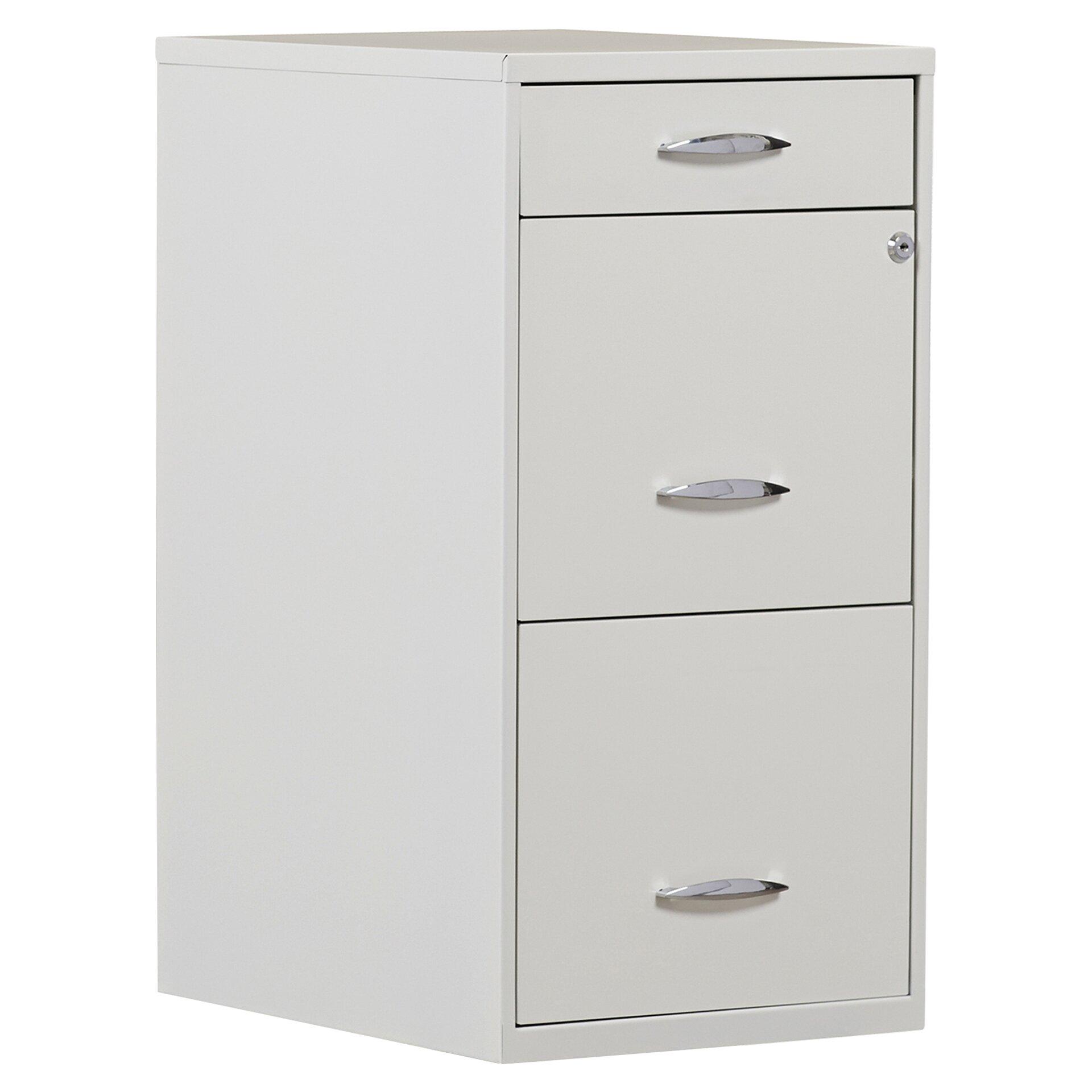Bed furniture top view - Symple Stuff Steel 3 Drawer Filing Cabinet Amp Reviews Wayfair