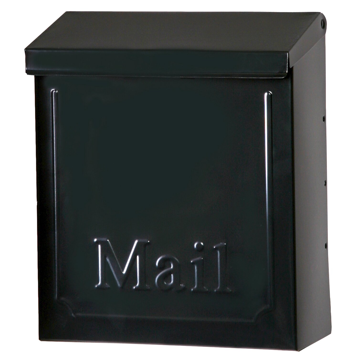 Symple Stuff Wall Mounted Mailbox With Lock Amp Reviews
