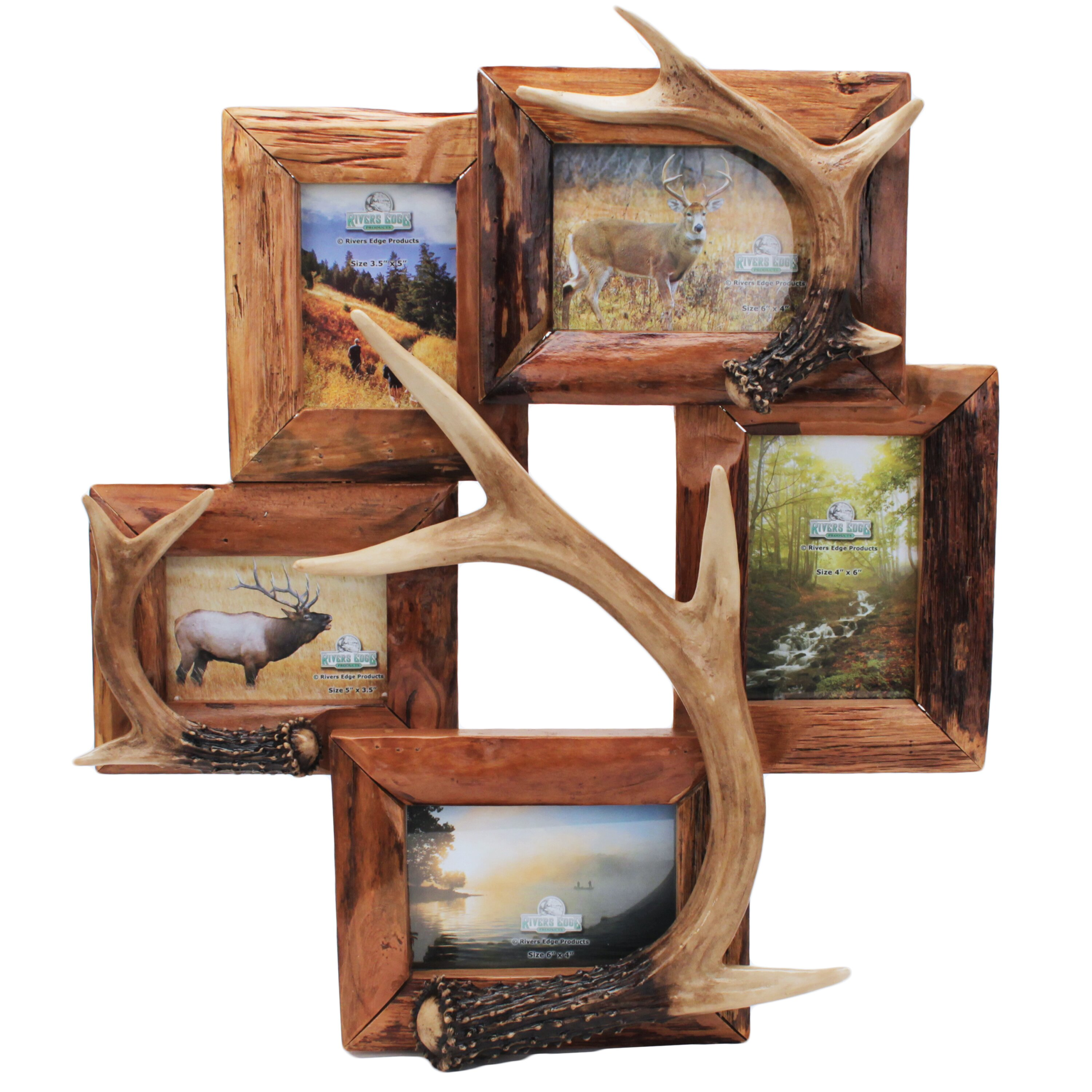 Deer Antler Picture Frame Wayfair