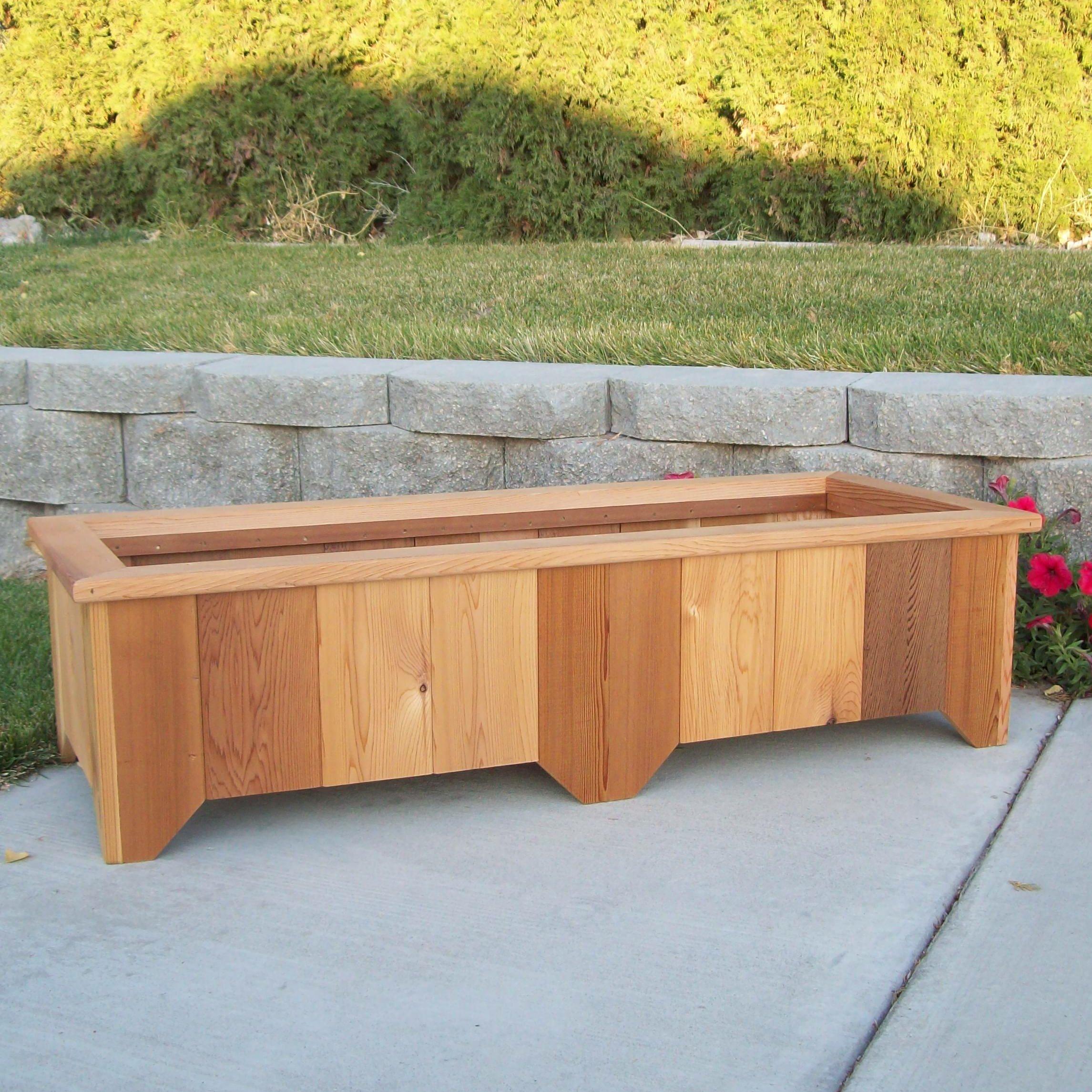 WoodCountry Rectangular Planter Box & Reviews