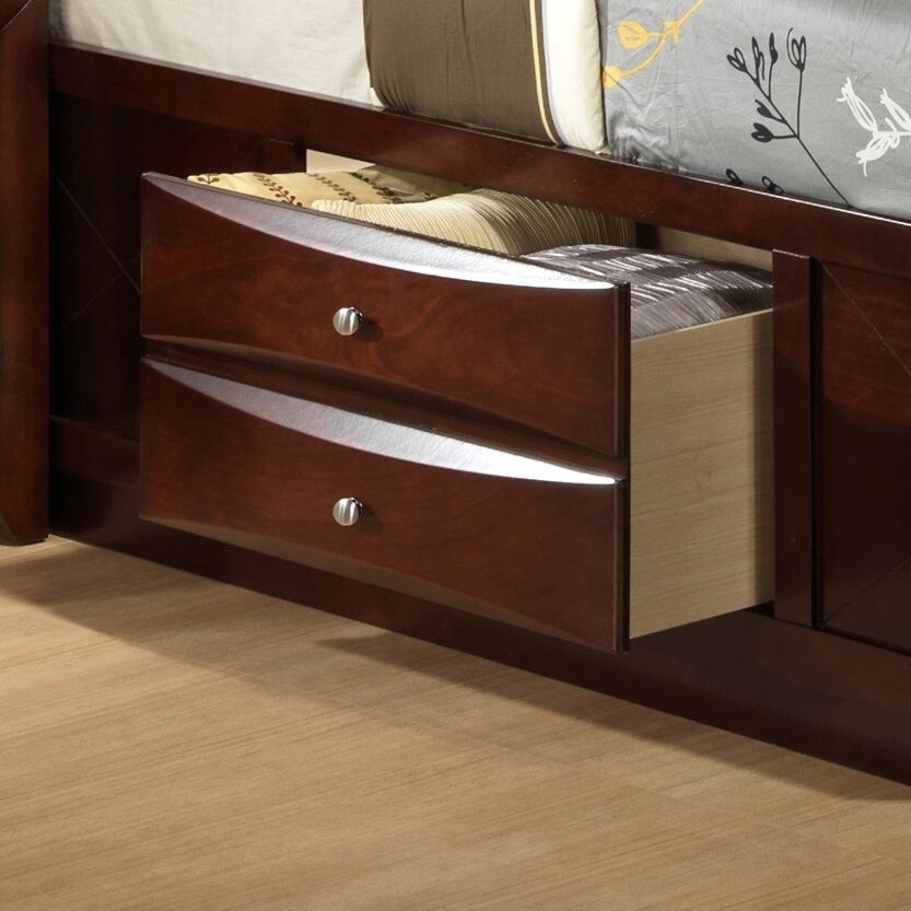Picket House Furnishings Emily Storage Platform Bed