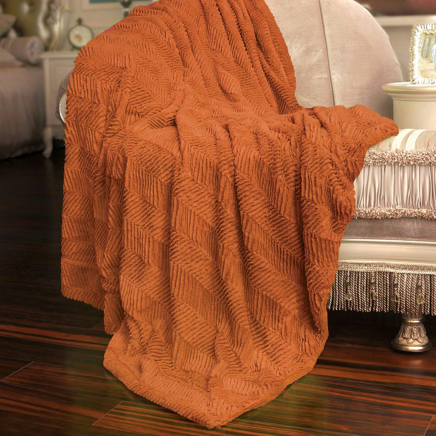 boon throw blanket herringbone faux fur throw blanket reviews wayfair. Black Bedroom Furniture Sets. Home Design Ideas