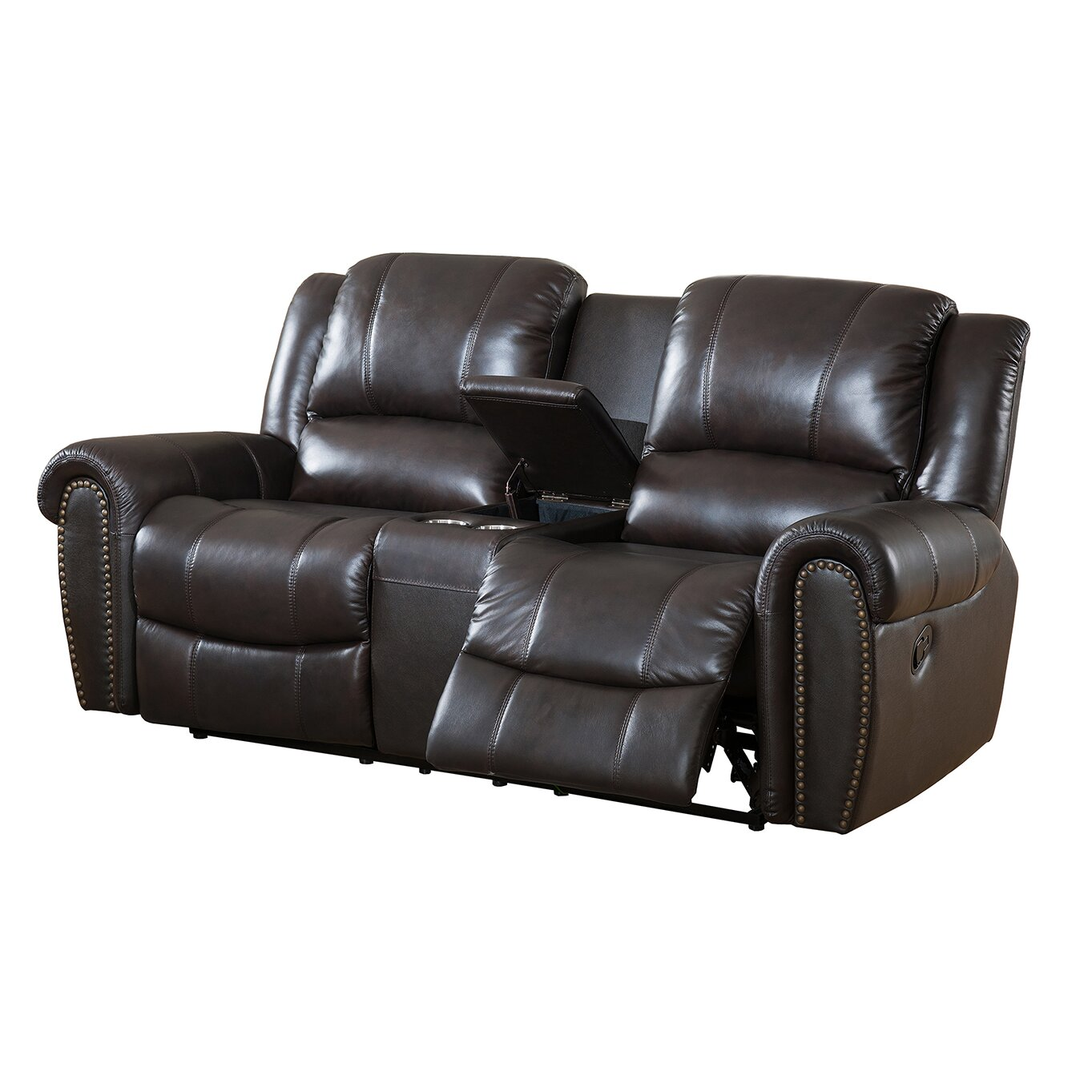 amax charlotte leather recliner sofa and loveseat set reviews