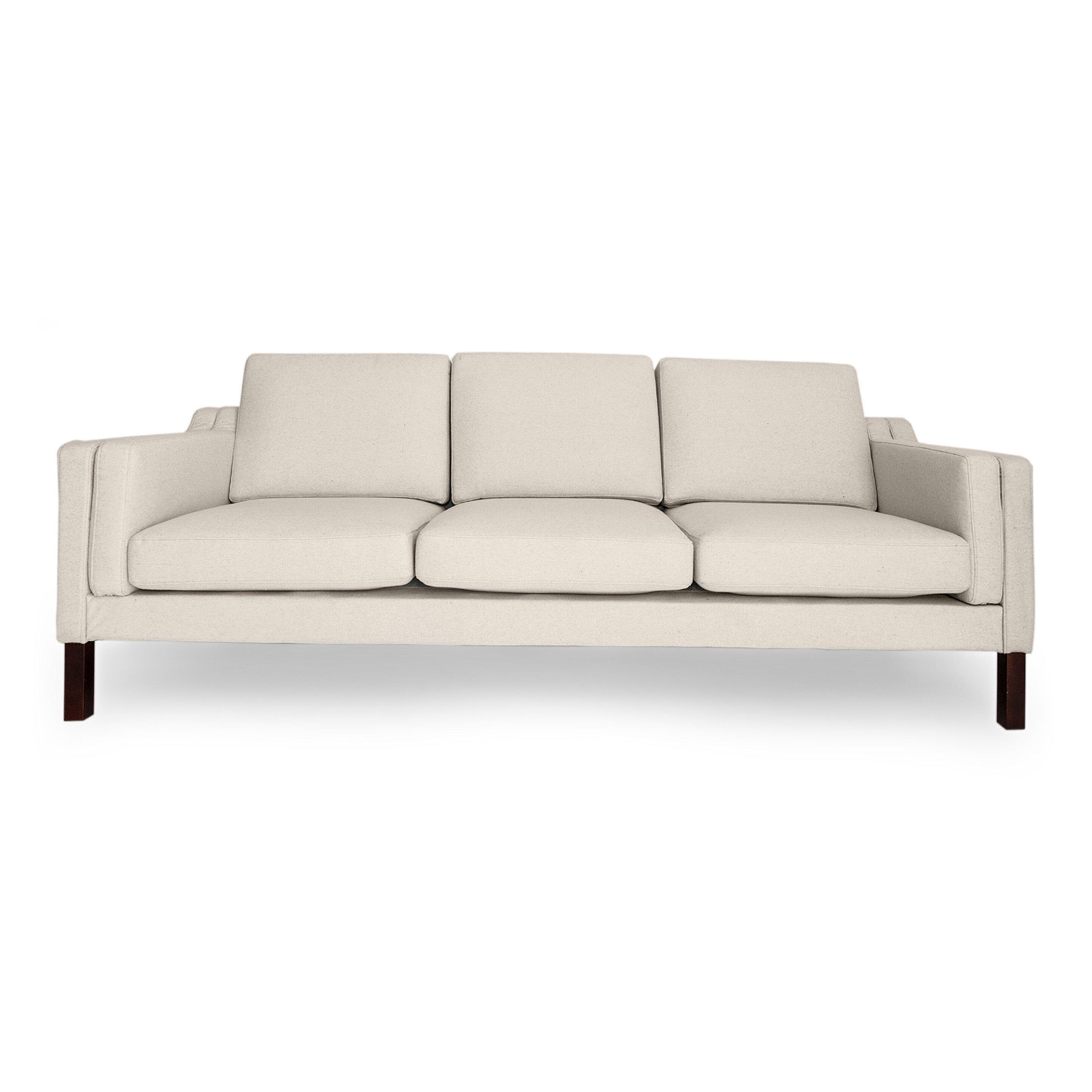 monroe mid century modern sofa by kardiel