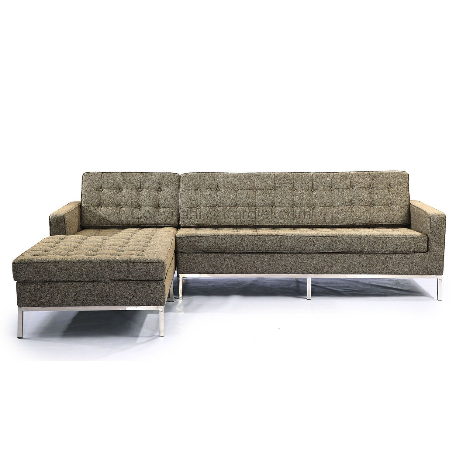 Florence sectional wayfair for Florence modern sectional sofa
