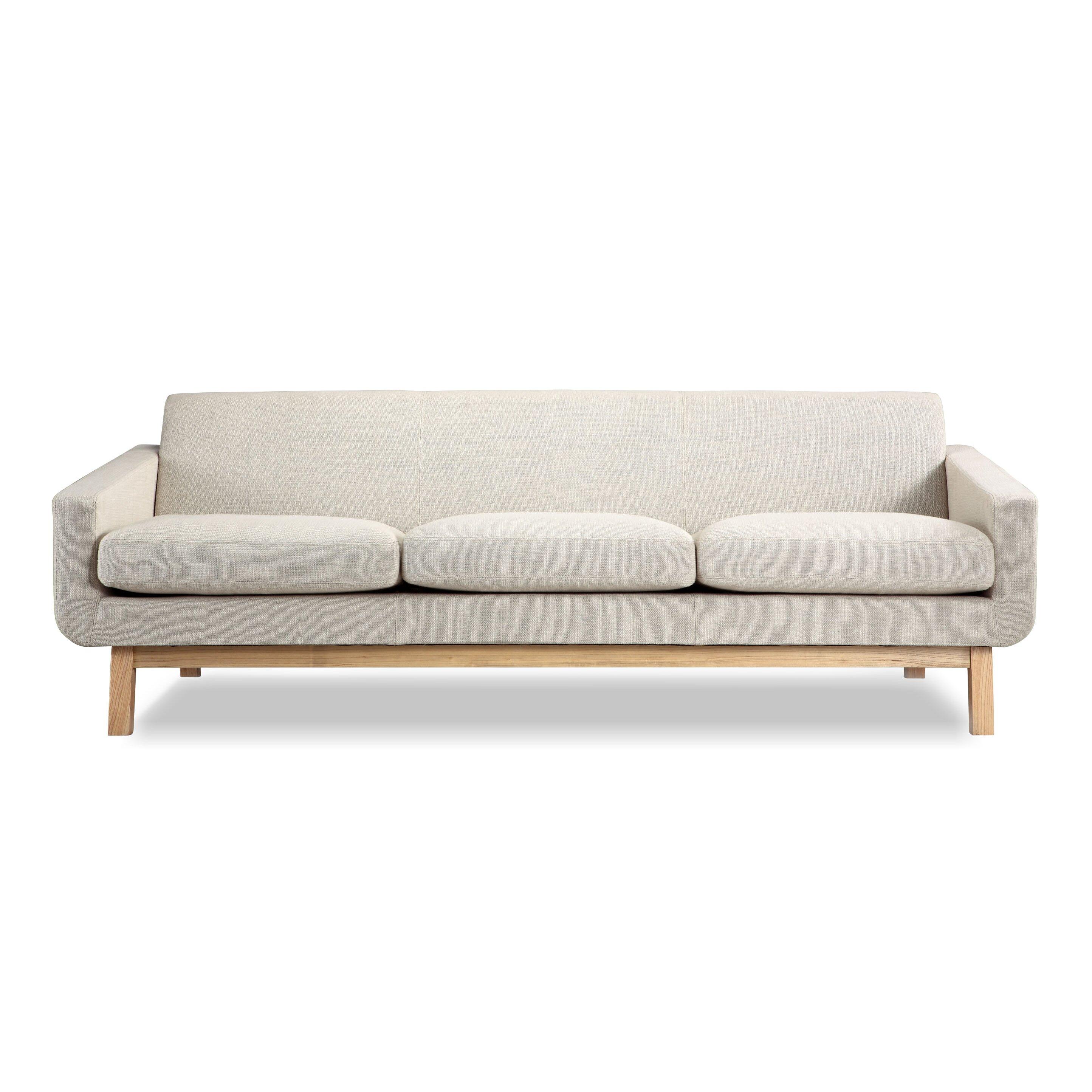 Platform Sofa : Kardiel Platform Mid Century Modern Classic Sofa & Reviews  Wayfair