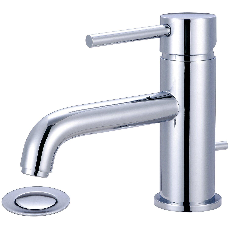 Motegi Single Handle Deck Mounted Bathroom Faucet by Pioneer