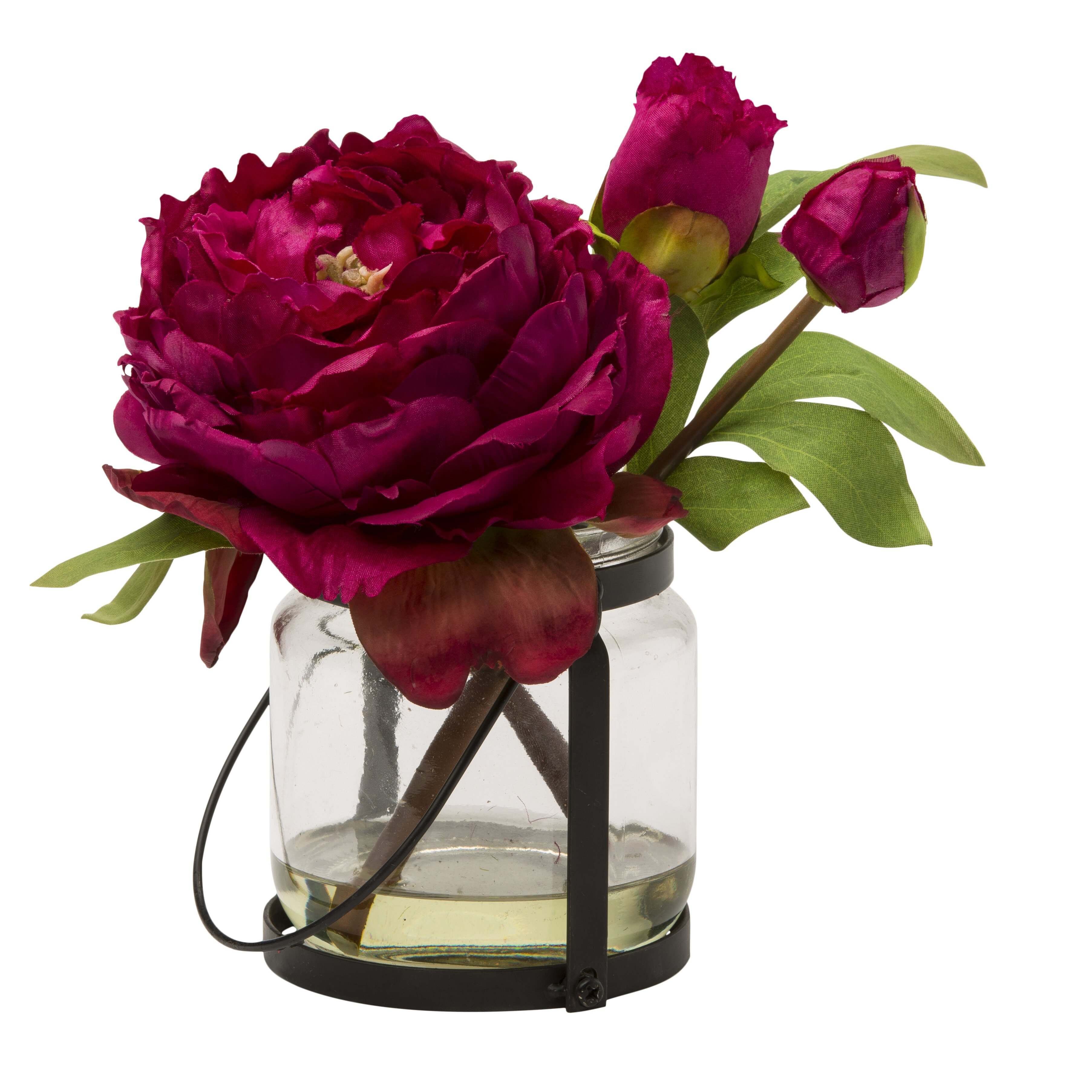 Teters Floral Blossom Peony Cutting In Vase Reviews