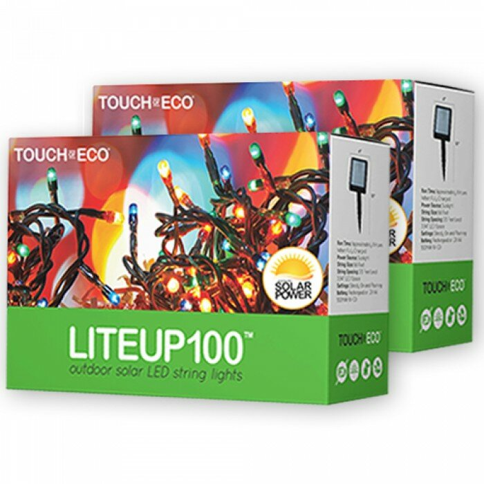 Next Deal Shop Solar Lights Reviews: Touch Of ECO Liteup 100 Solar String Lighting & Reviews