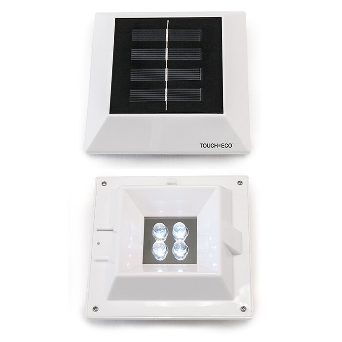 Next Deal Shop Solar Lights Reviews: Touch Of ECO Halolite Solar LED 4 Light Pathway Lighting