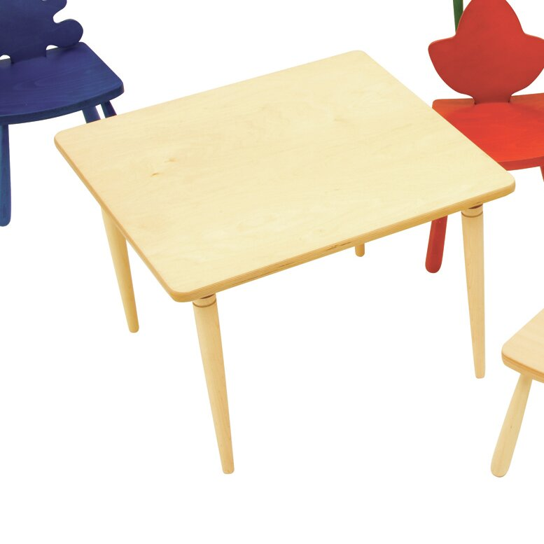Kids square arts and crafts table wayfair for Arts and craft tables