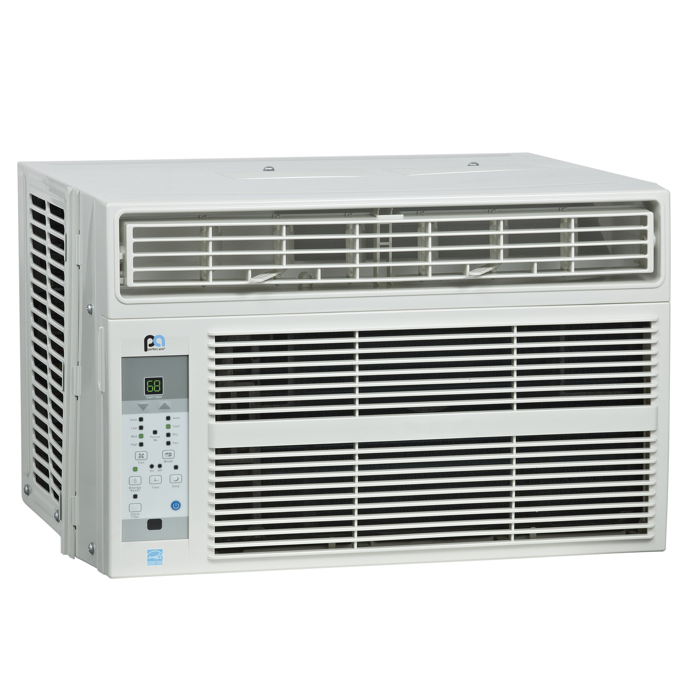 8000 BTU Energy Star Window Air Conditioner with Remote by PerfectAire #526979