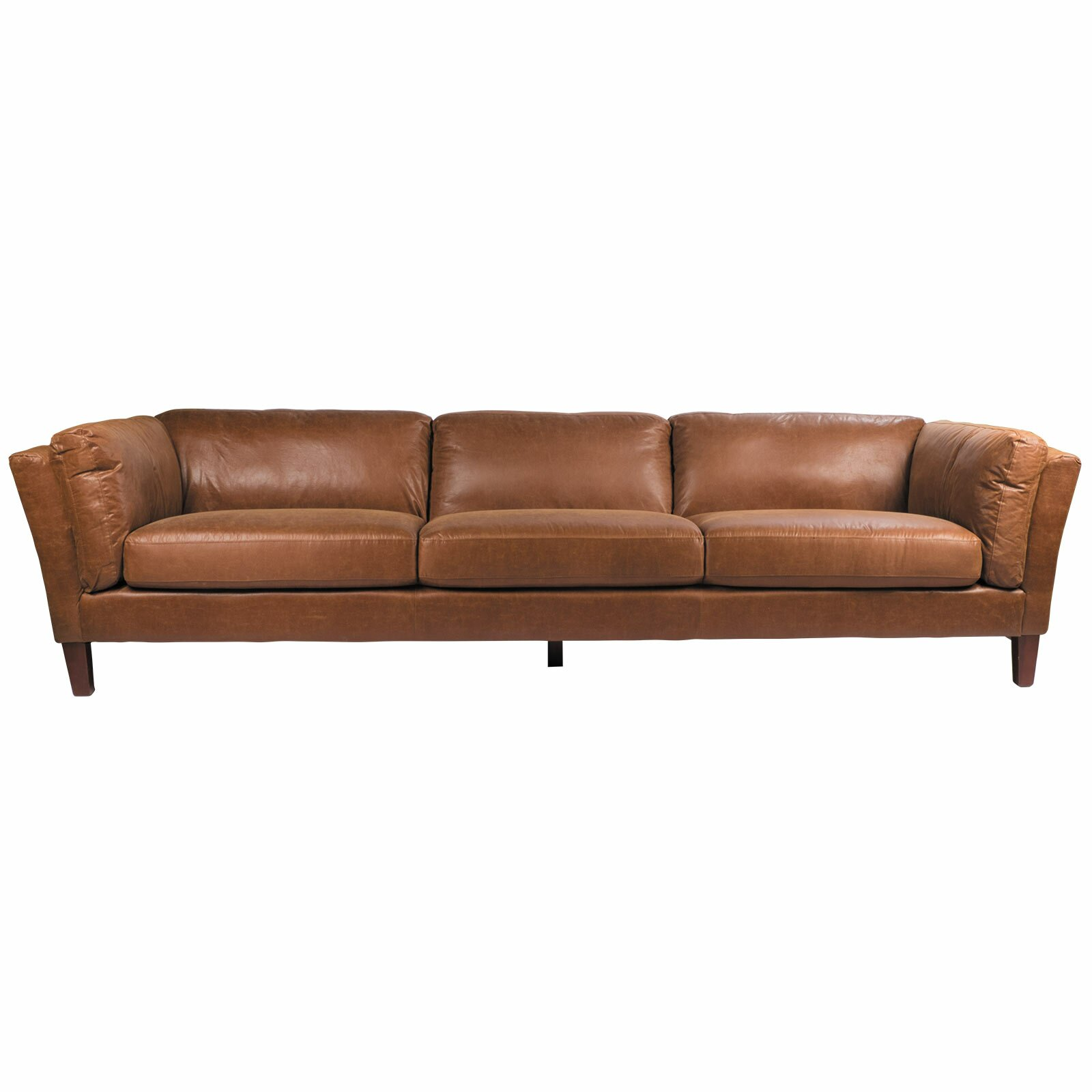 Joseph Allen Alamo Leather Sofa