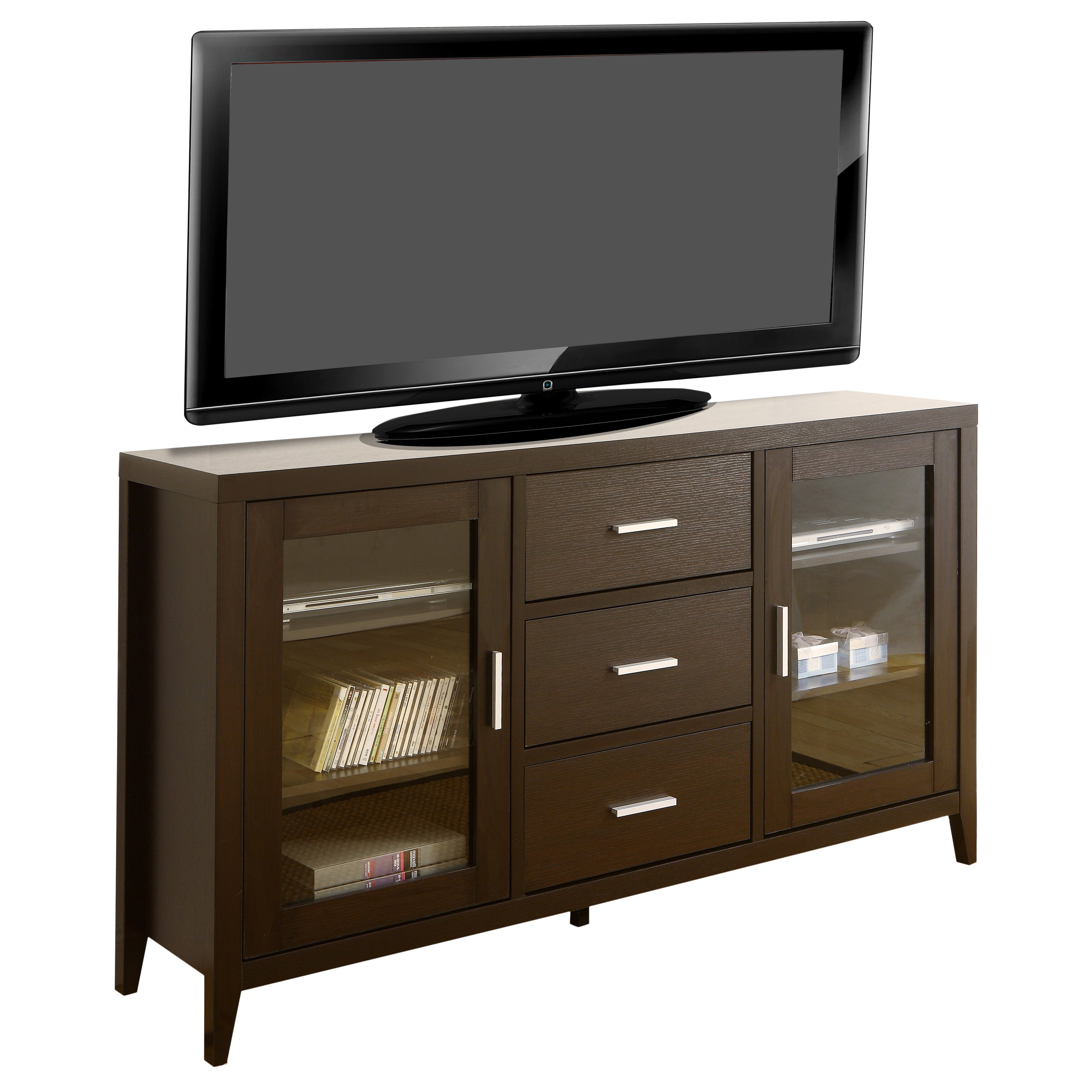 latitude run sideboard and tv stand reviews wayfair. Black Bedroom Furniture Sets. Home Design Ideas