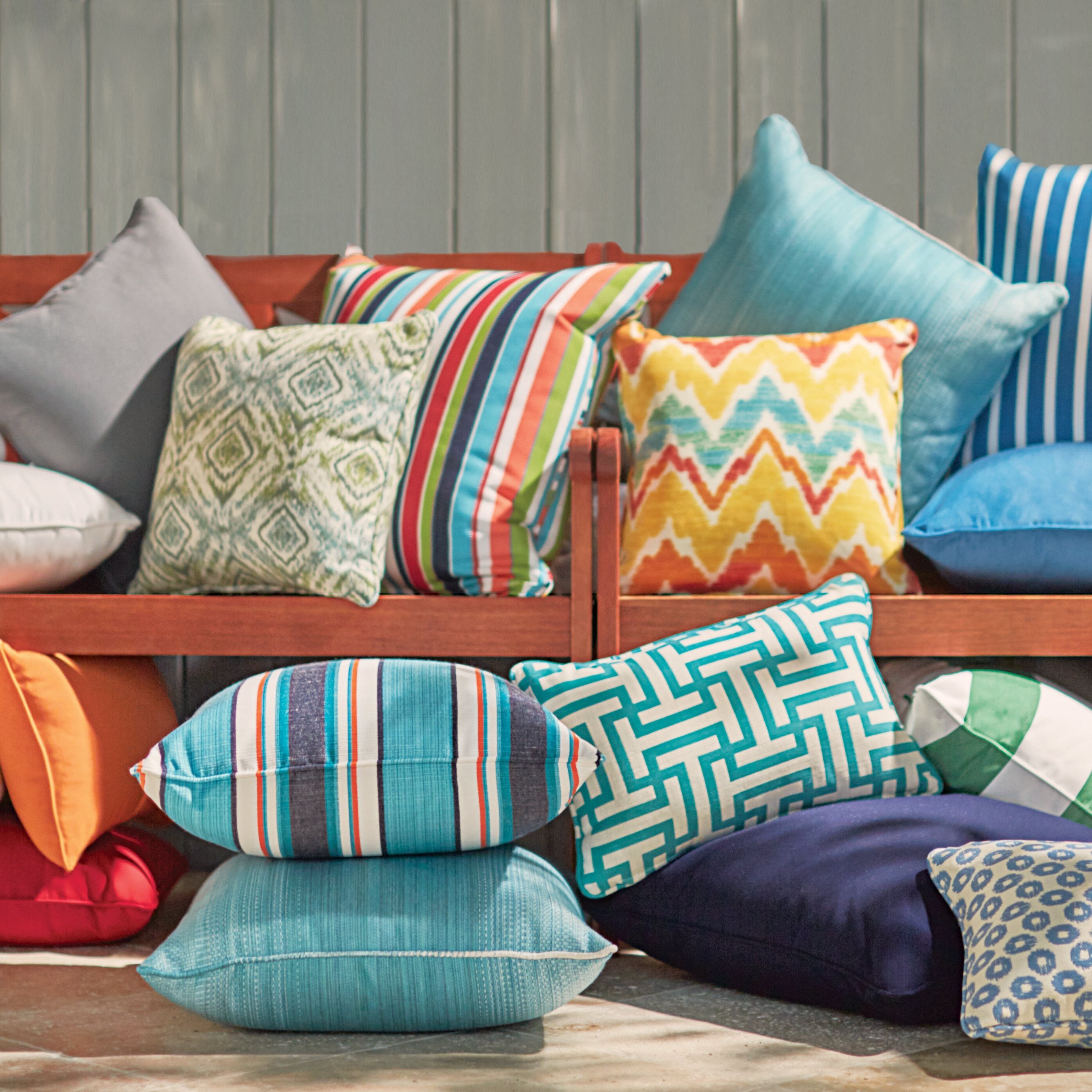Custom Sunbrella Throw Pillows : Outdoor Sunbrella Throw Pillow Wayfair