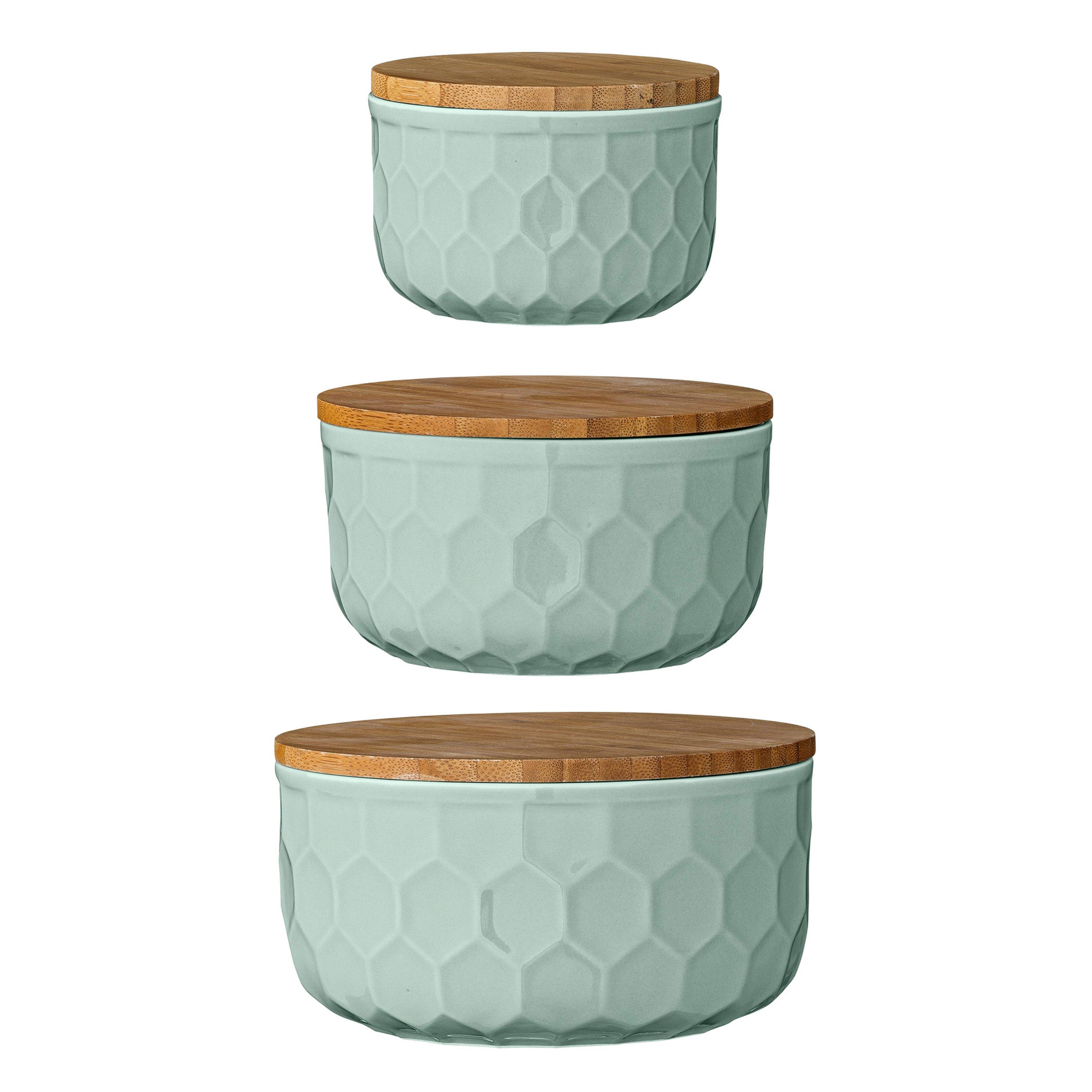 bloomingville 3 piece ceramic mixing bowl set reviews wayfair. Black Bedroom Furniture Sets. Home Design Ideas