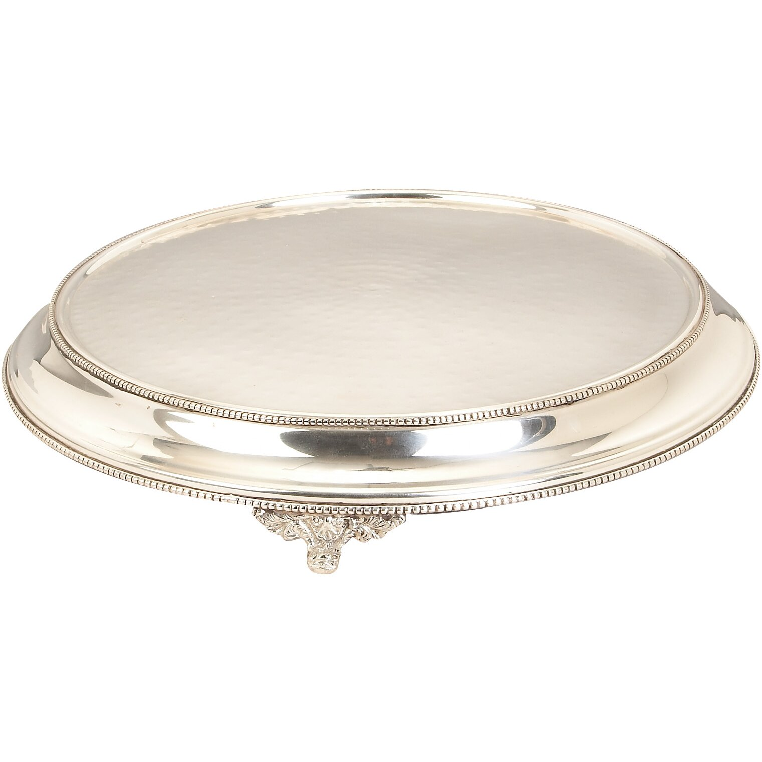 regal round wedding cake stand by abchomecollection