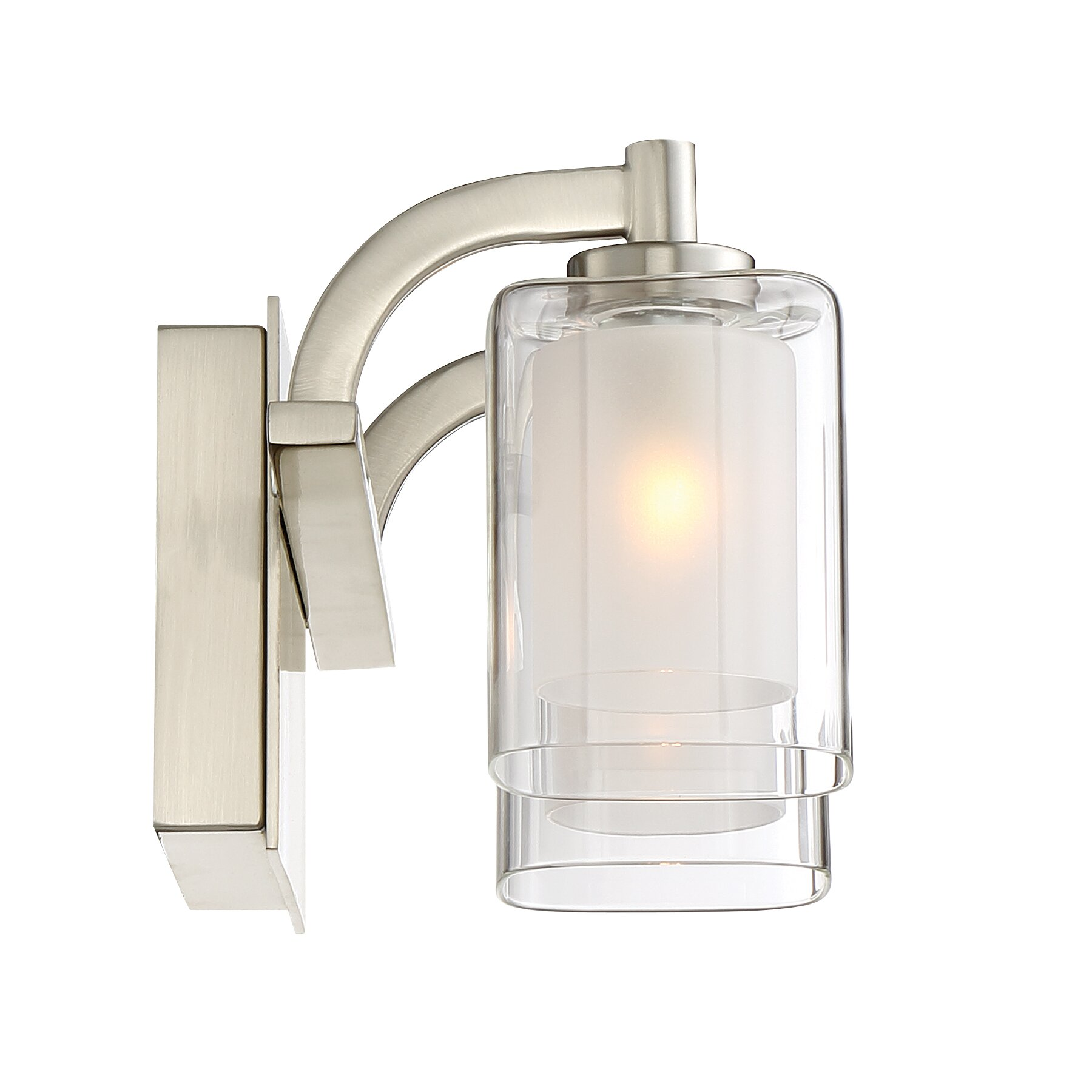 Quoizel kolt 2 light bath bar reviews wayfair for Quoizel bathroom lighting