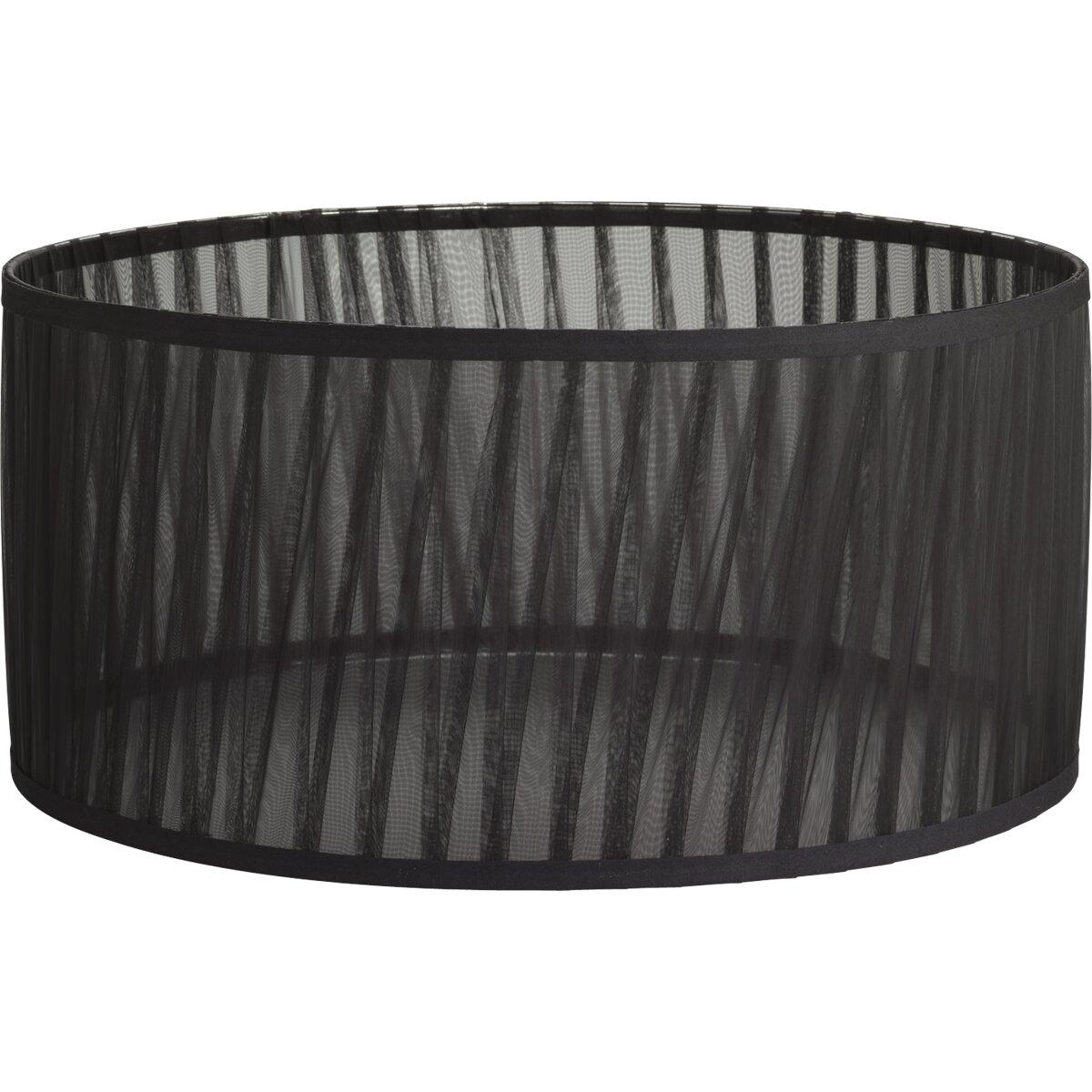 progress lighting 18 chiffon fabric drum lamp shade. Black Bedroom Furniture Sets. Home Design Ideas