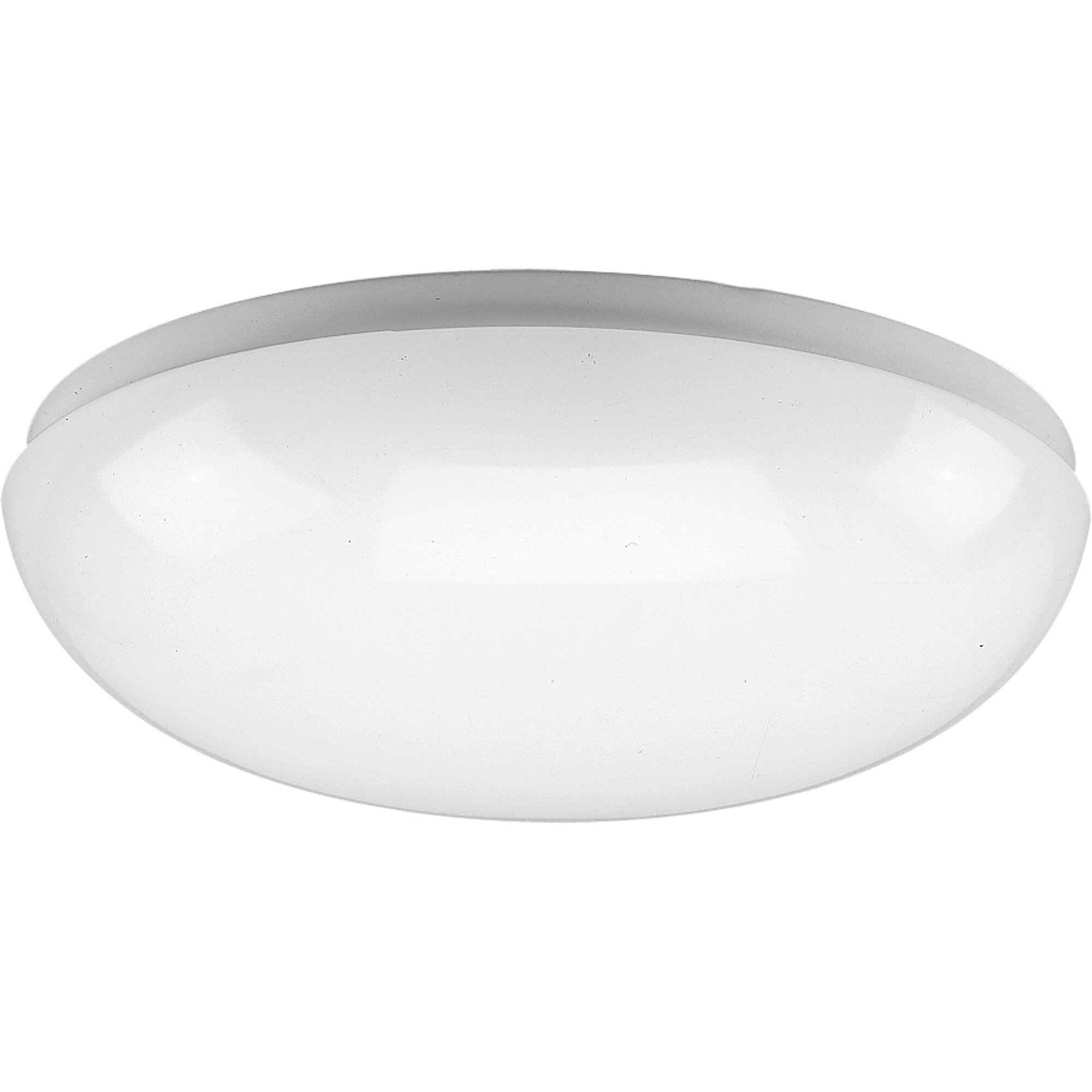 round white fluorescent ceiling cloud by progress lighting. Black Bedroom Furniture Sets. Home Design Ideas