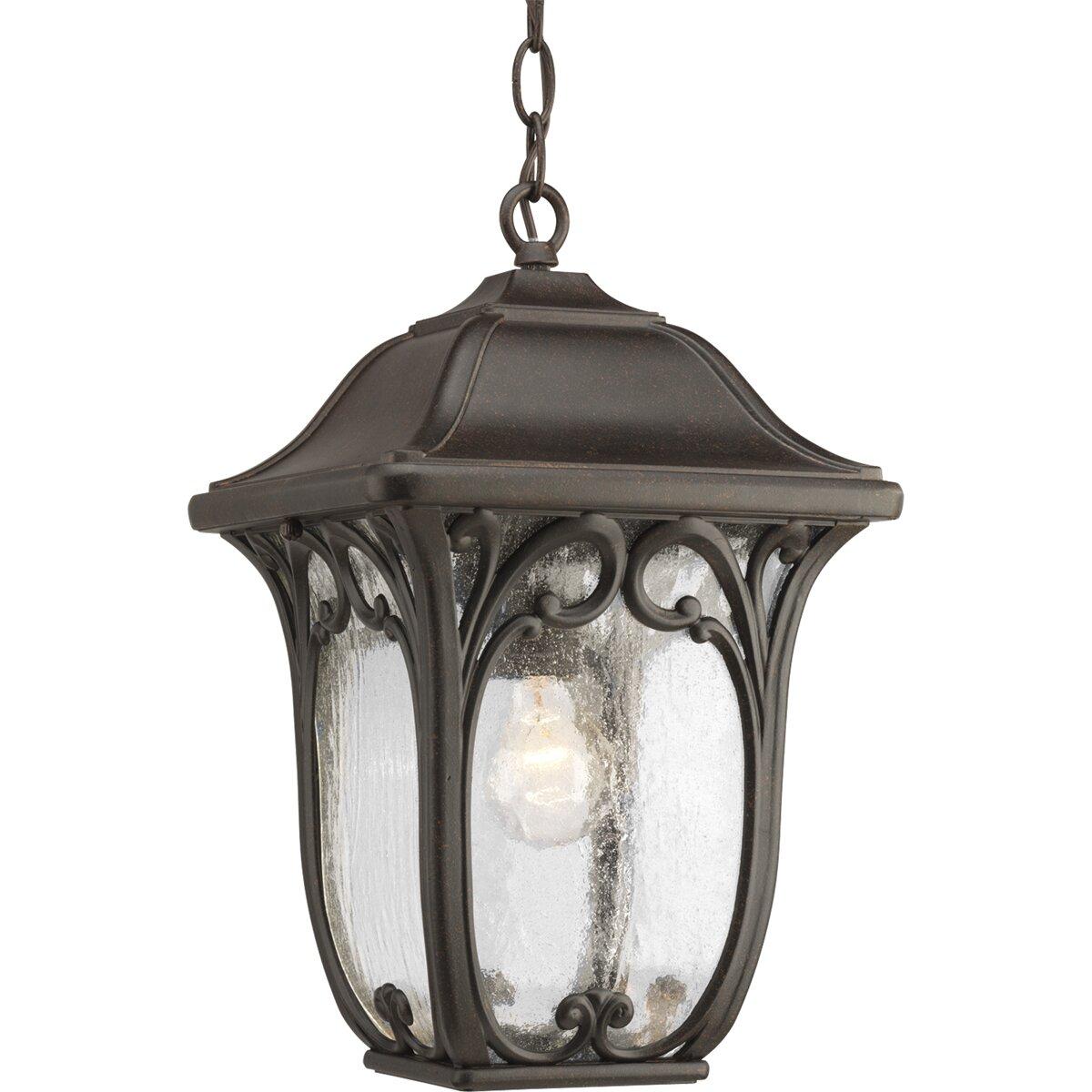 Progress Lighting Enchant 1 Light Outdoor Hanging Lantern