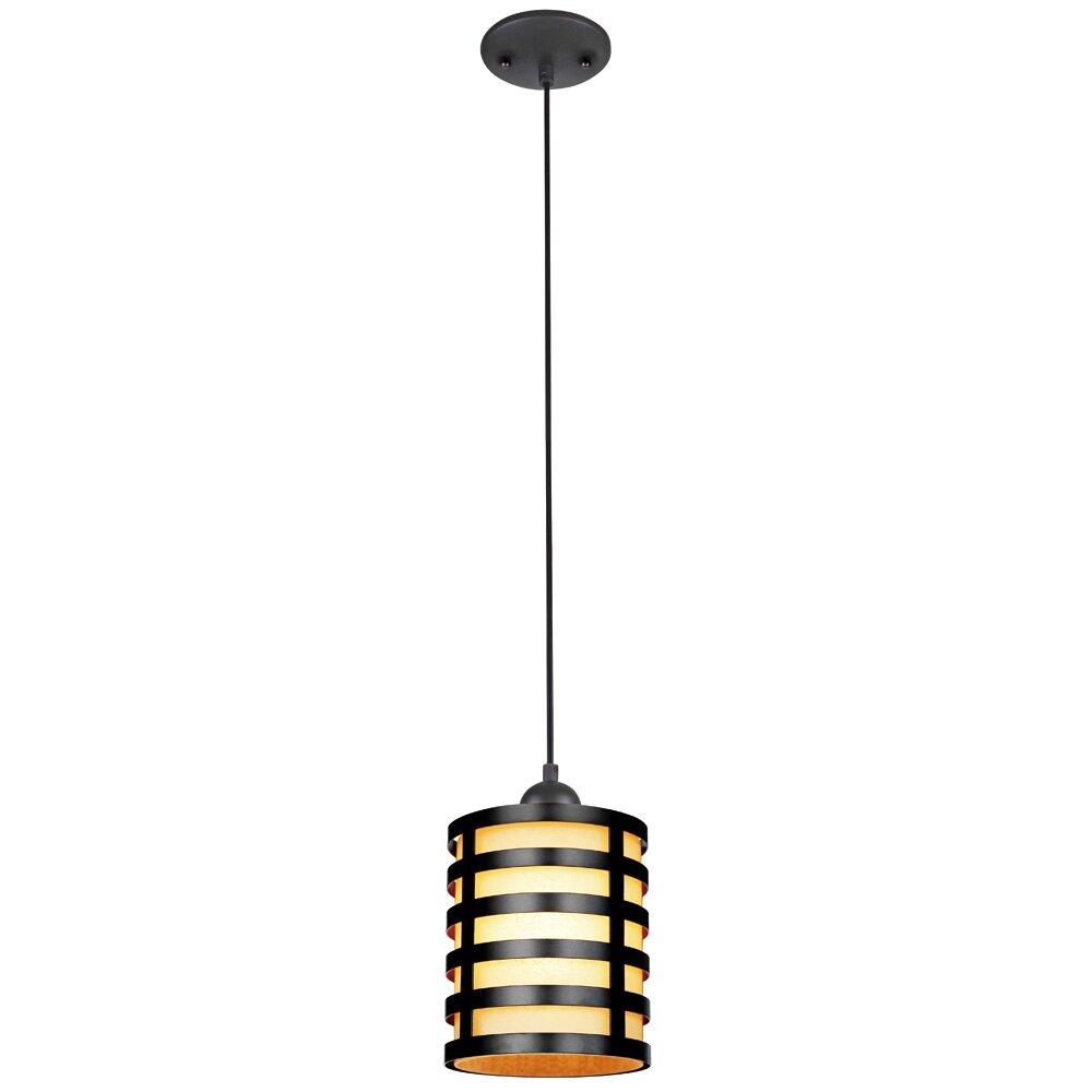 westinghouse lighting 1 light mini pendant reviews wayfair. Black Bedroom Furniture Sets. Home Design Ideas