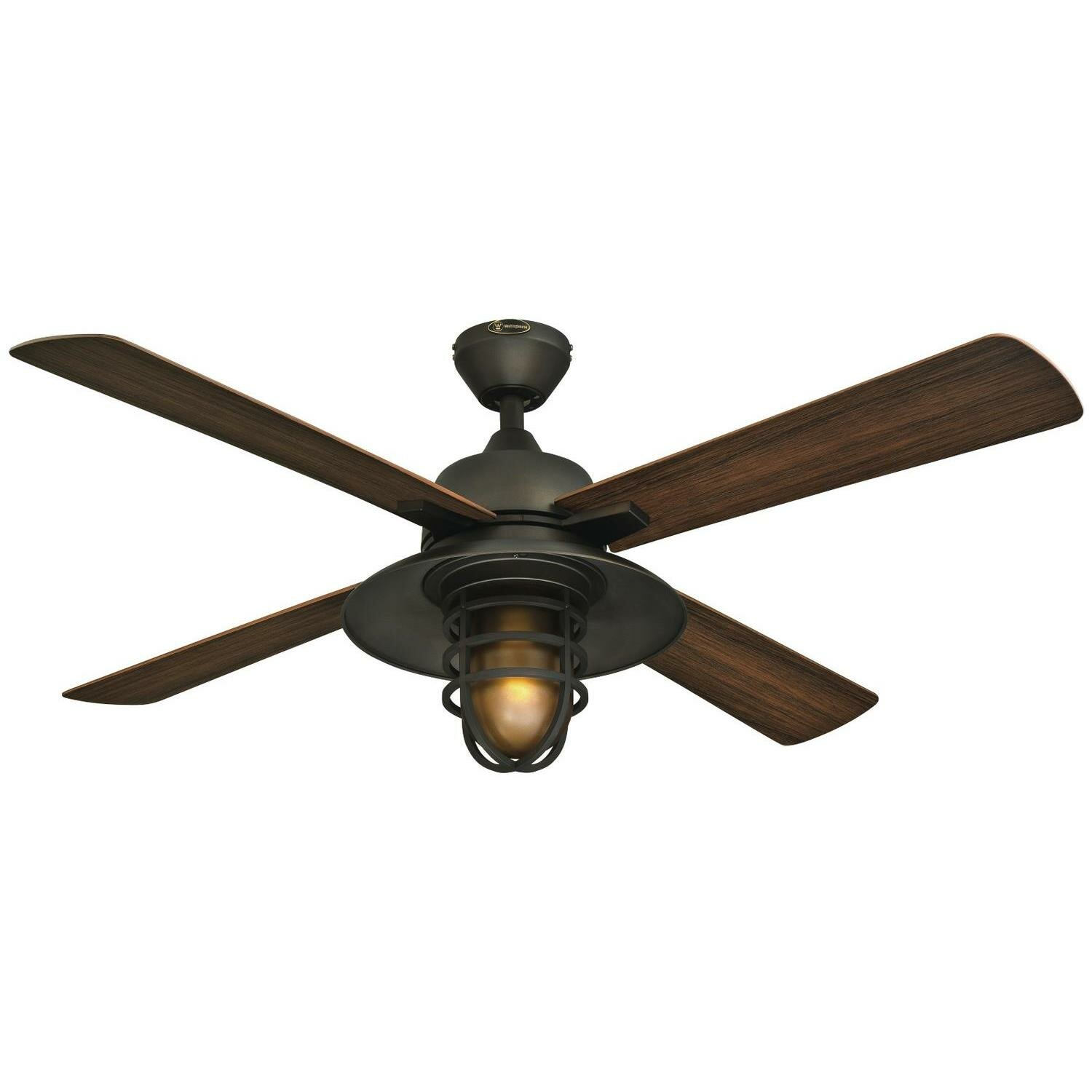 Westinghouse lighting 52 great falls one light indoor Outdoor ceiling fan sale