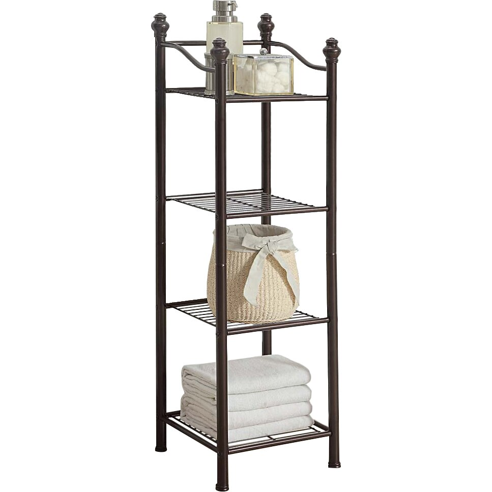 Oia Belgium 13 Quot W X 42 9 Quot H Bathroom Shelf Amp Reviews Wayfair