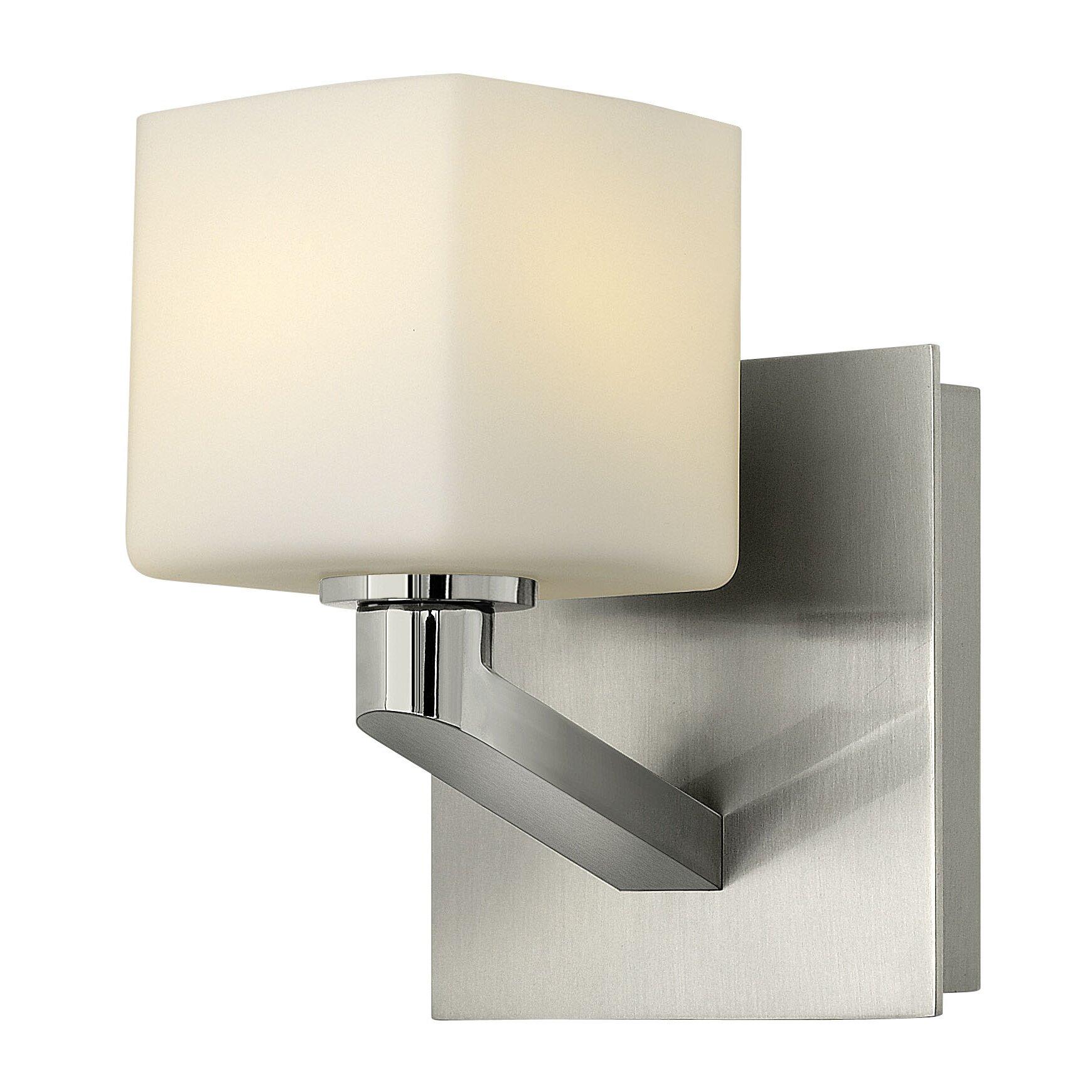 Sophie 1 light bath vanity light wayfair for Hinkley bathroom sconces