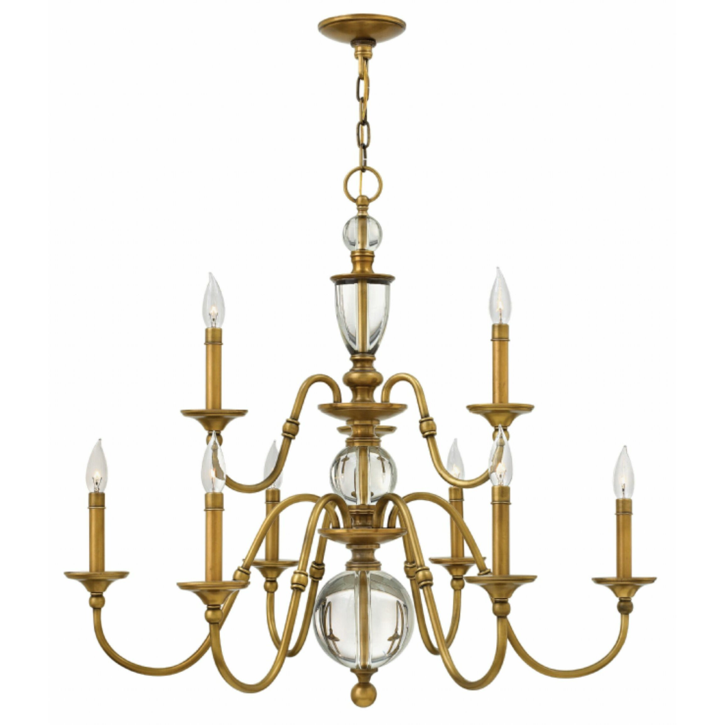 Eleanor 9 Light Candle Chandelier