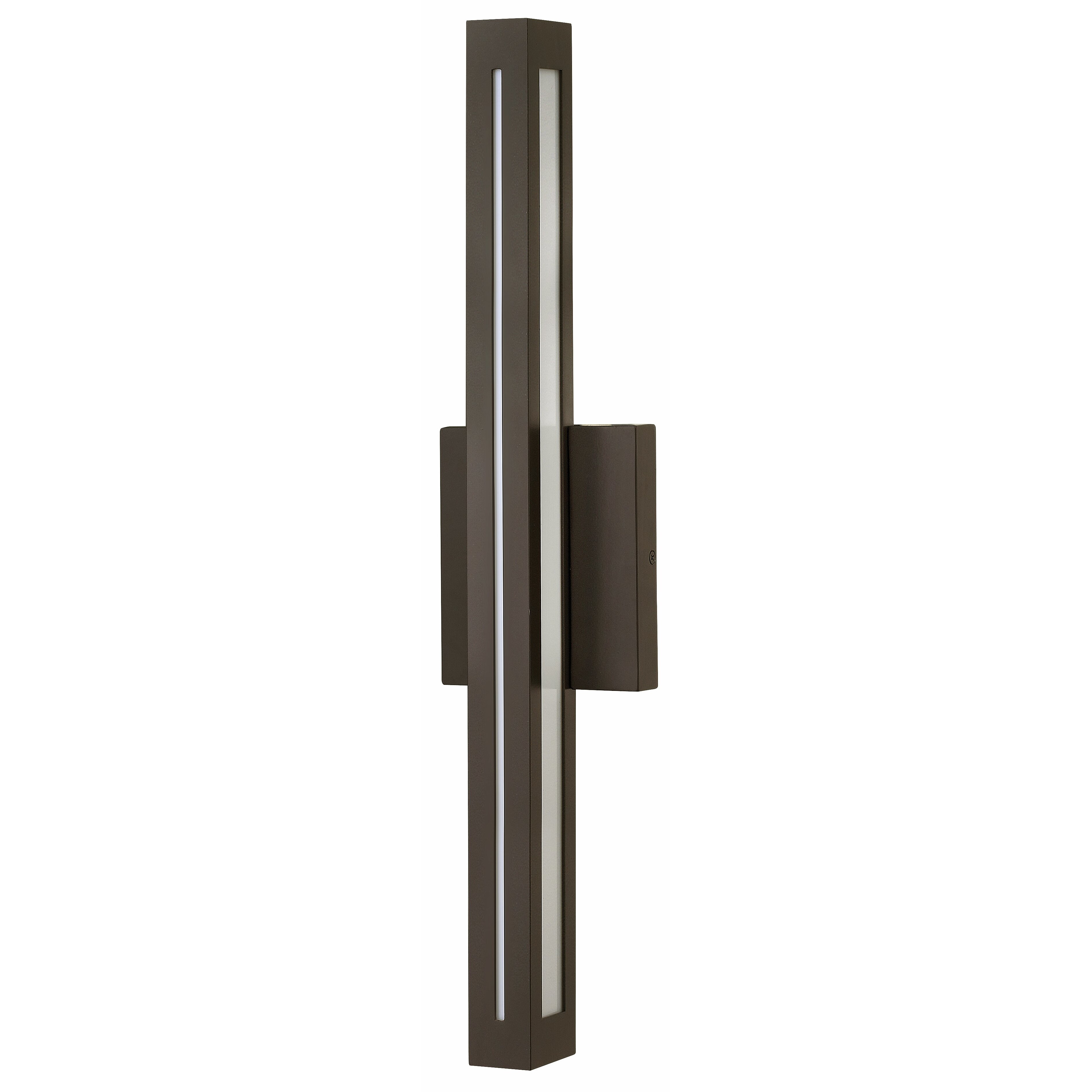 vue 2 light outdoor wall sconce by hinkley lighting. Black Bedroom Furniture Sets. Home Design Ideas