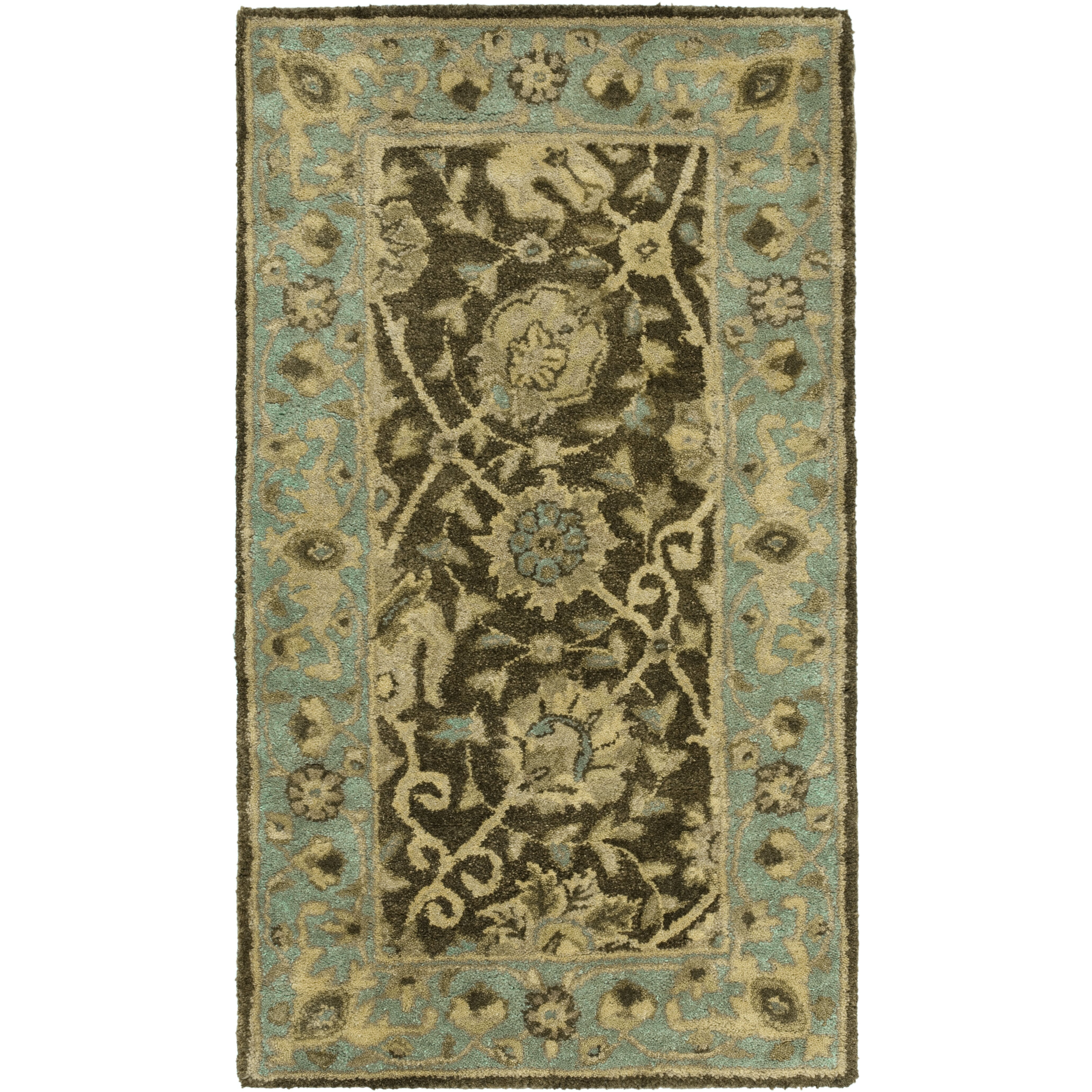 Safavieh Antiquities Brown/Green Area Rug & Reviews