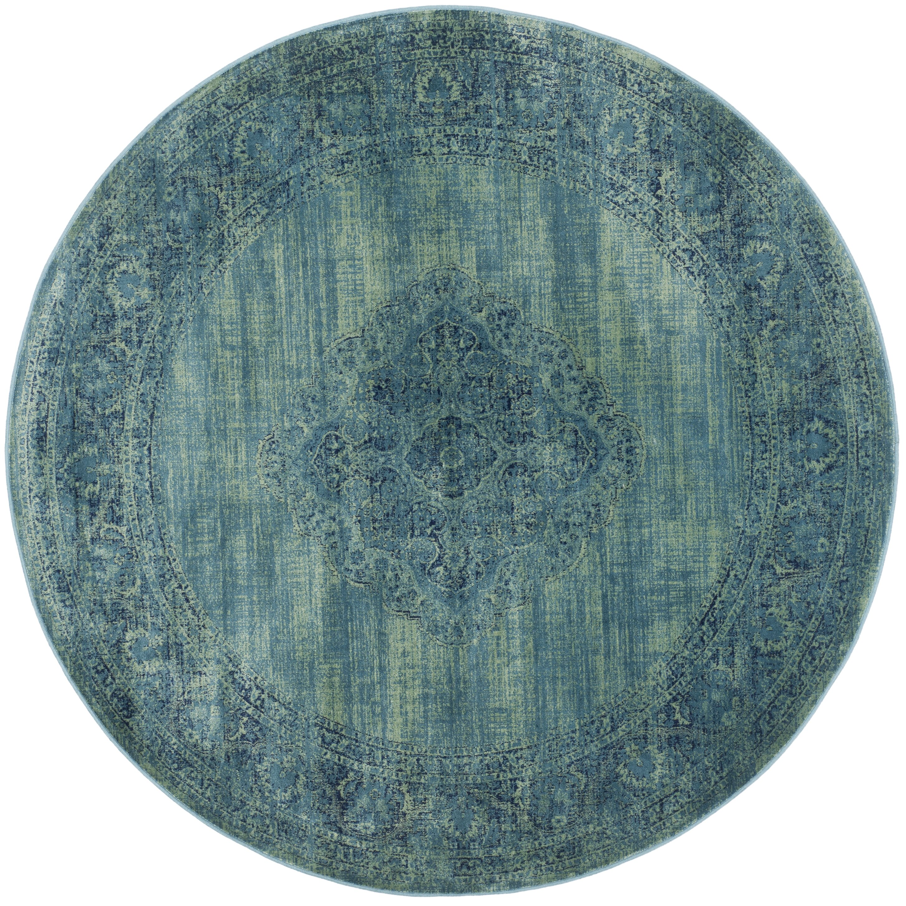 Safavieh Vintage Turquoise And Multi Colored Area Rug: Safavieh Vintage Turquoise Area Rug & Reviews
